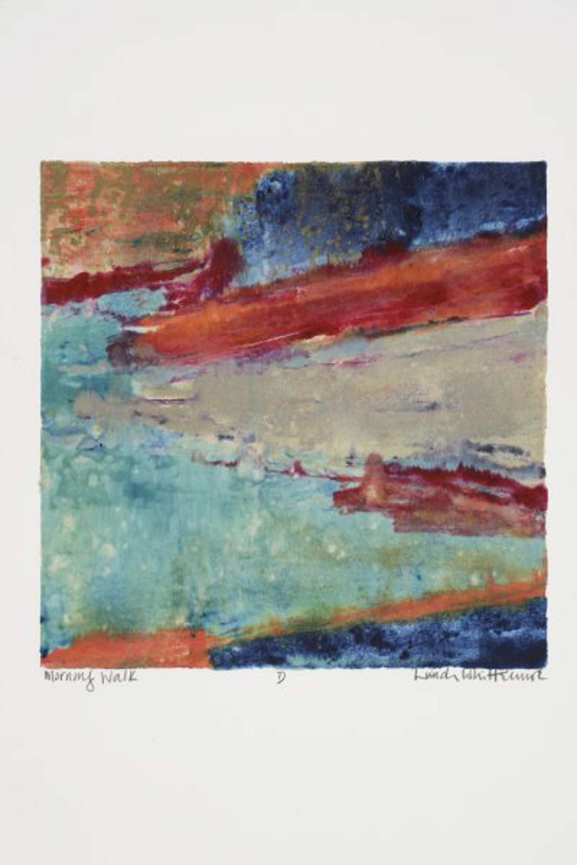 Morning Walk D by Linda Whittemore