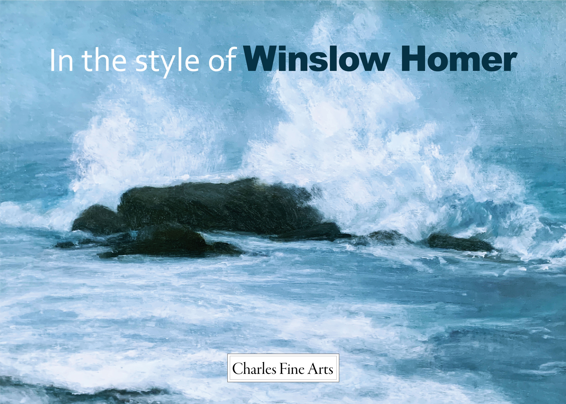 In the style of Winslow Homer, Exhibition Catalogue