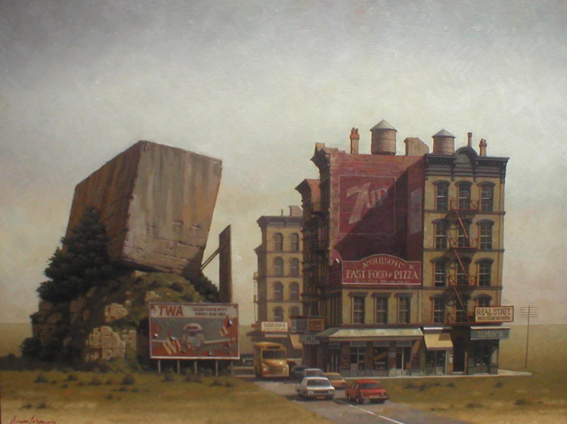 Great Rock of Philadelphia by Arnau Alemany