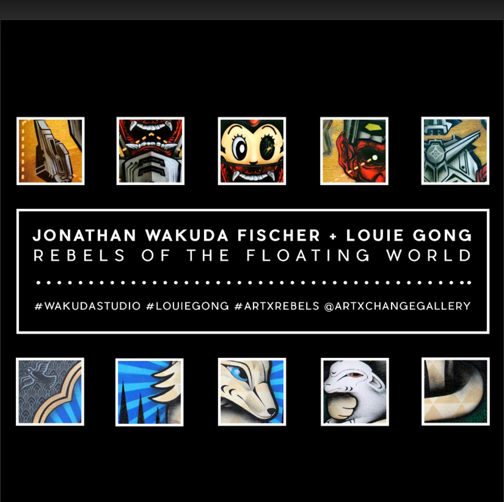 Rebels of the Floating World | exhibition catalog by Jonathan Wakuda Fischer