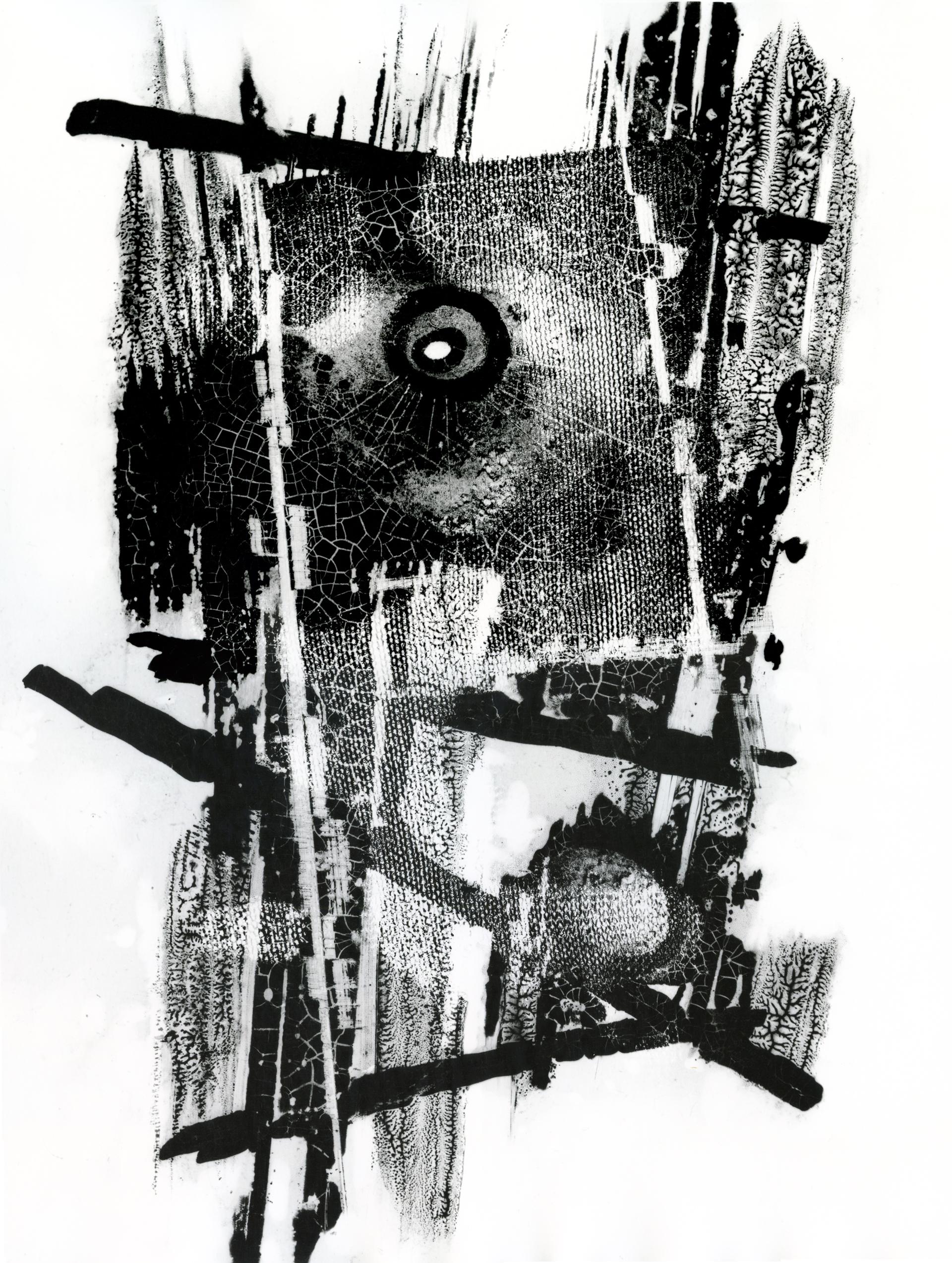 Untitled (Lichtgrafik) by Heinz Hajek-Halke