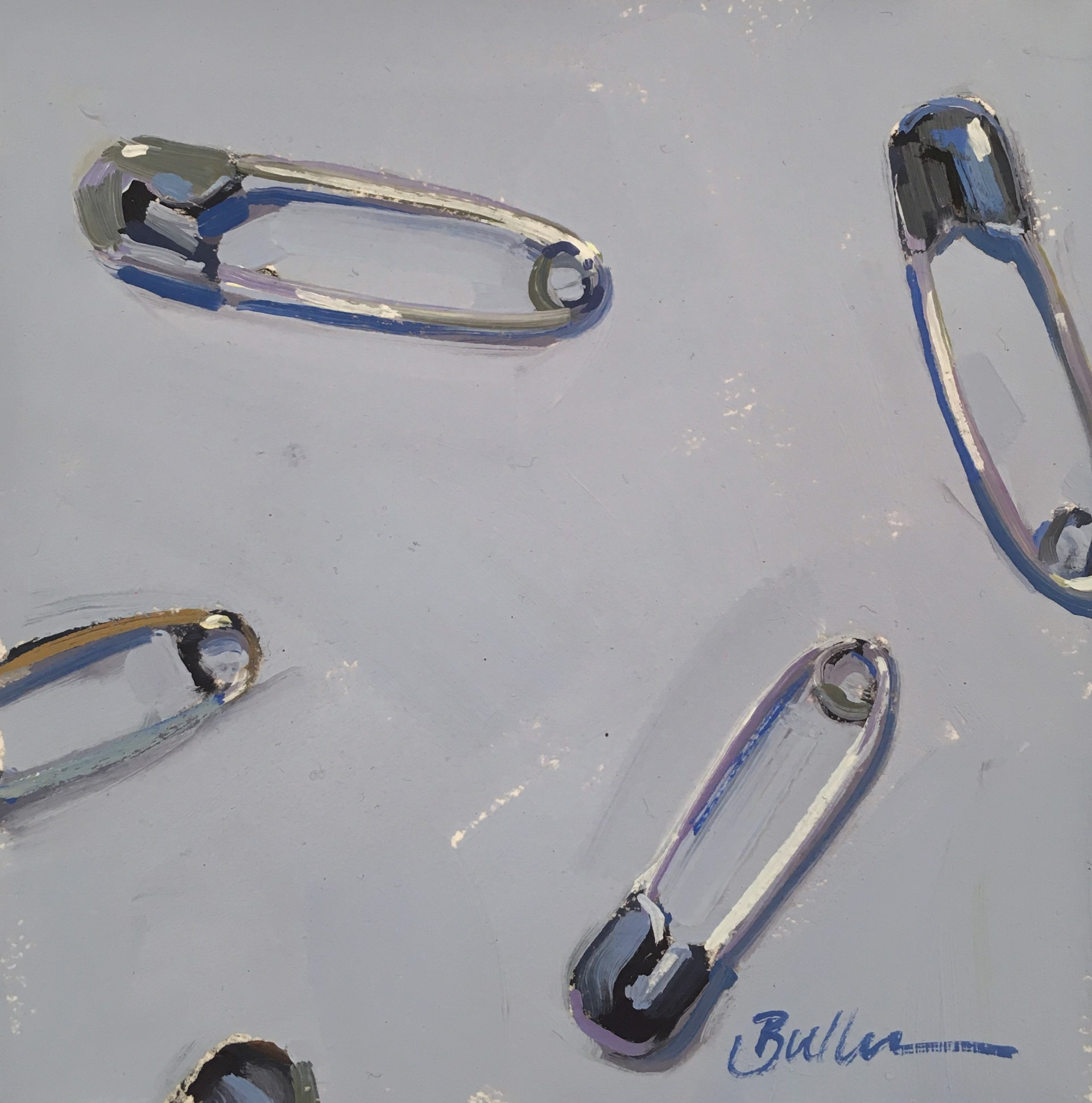 Safety Pins by Samantha Buller