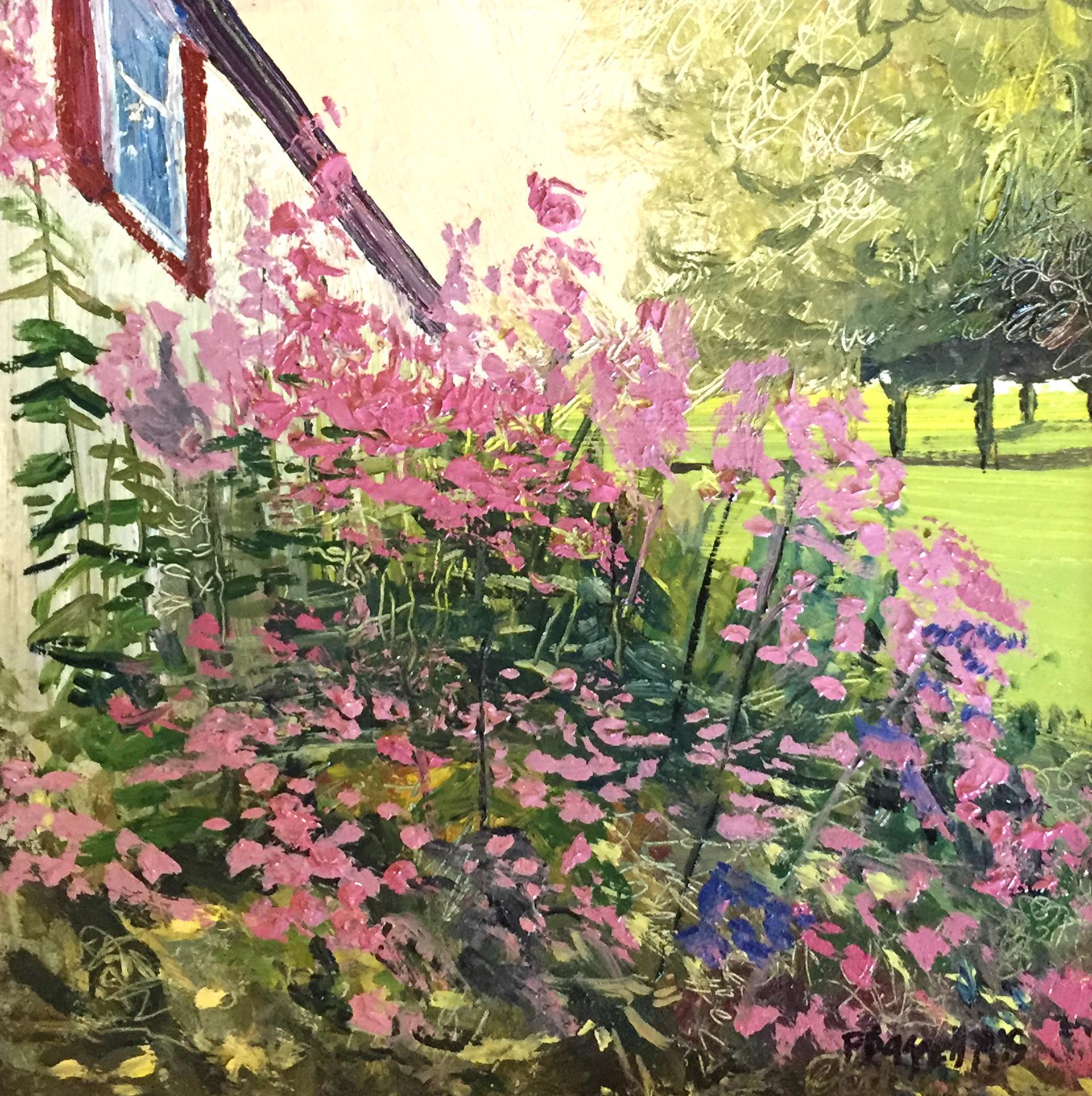 In The Garden by Frank Baggett
