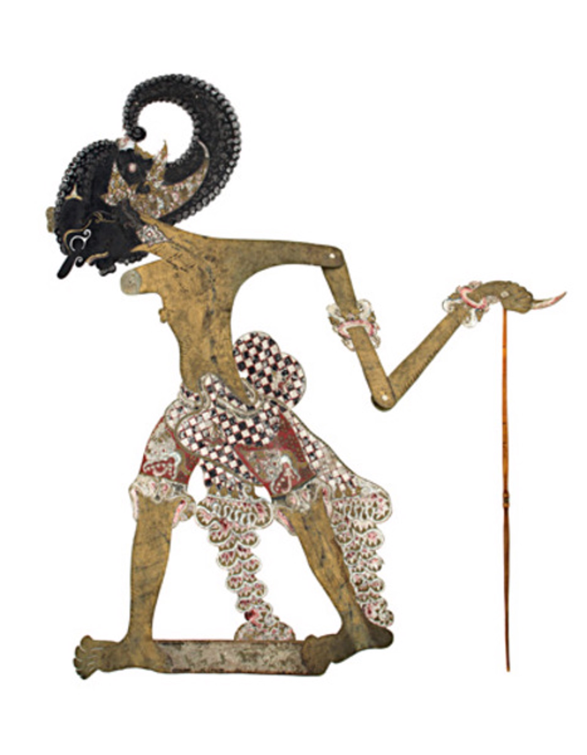 Puppet Female Wayang Purwa By Indonesian David Barnett Gallery