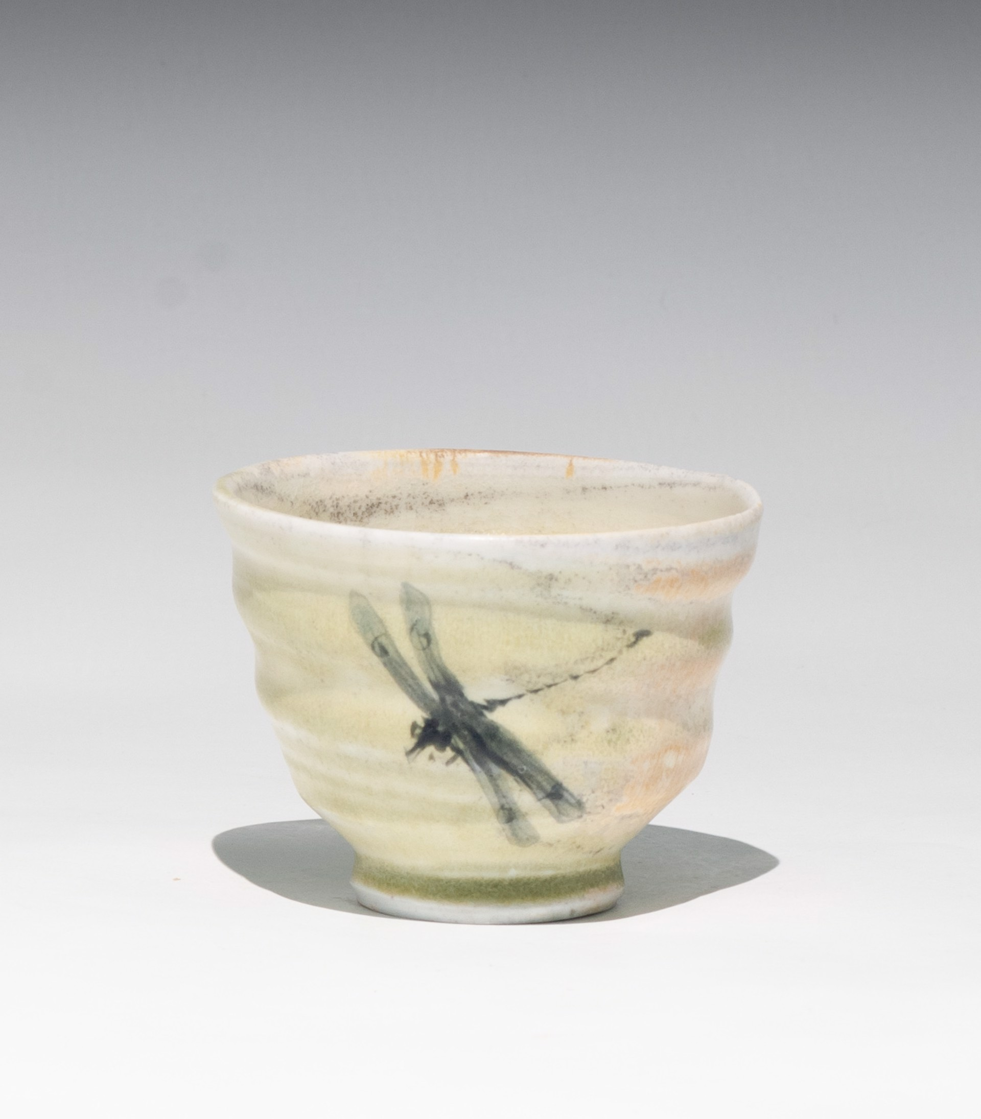 Insect Tea Bowl 1 by Caroline Bottom Anderson