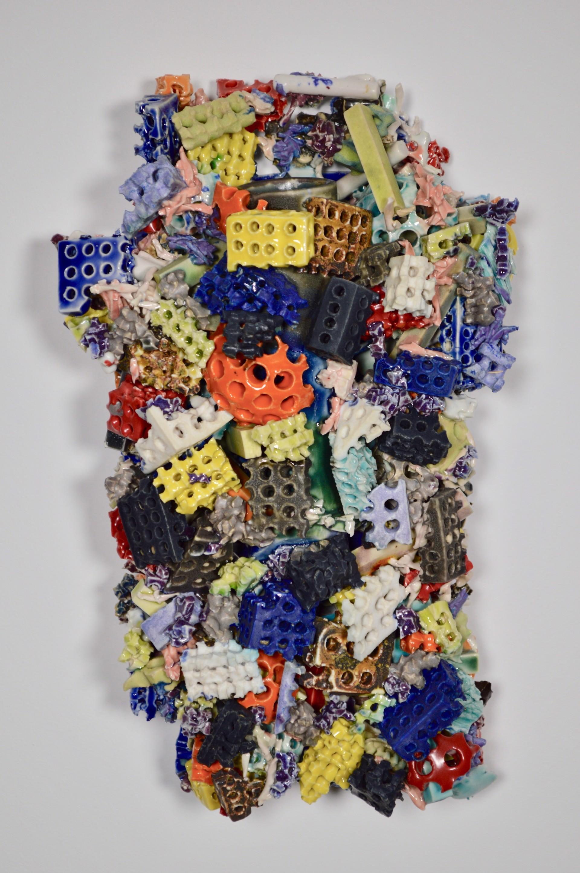 Block (vase) by Michael Fujita