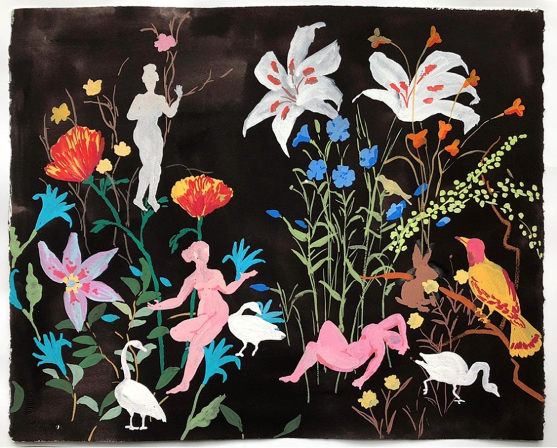 Night Lilies by Melanie Parke