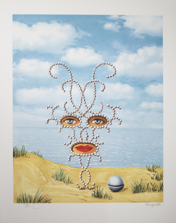 Schéhérazade (Sheherazade) by Rene Magritte