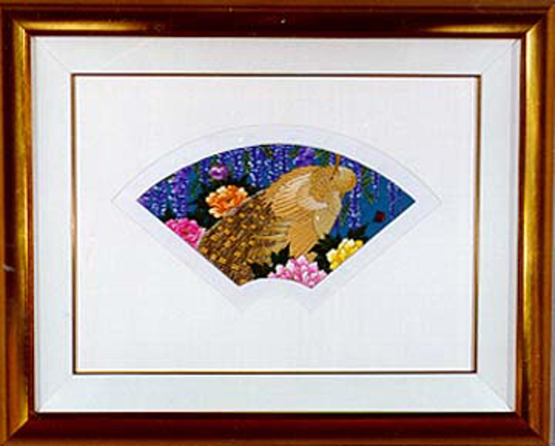 Fan Peacock by Hisashi Otsuka