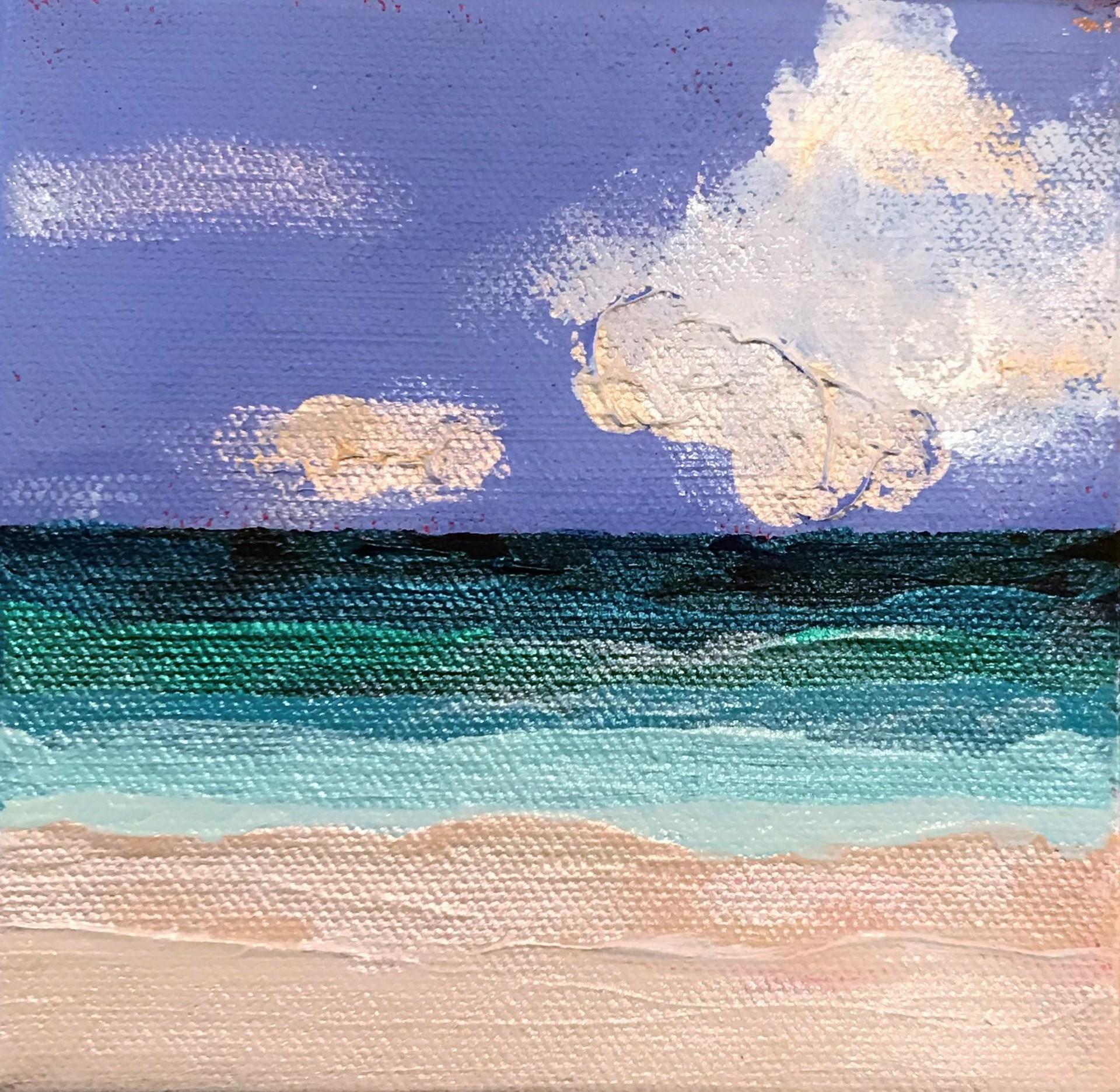 Beachfront No. 6 by Leslie Poteet Busker