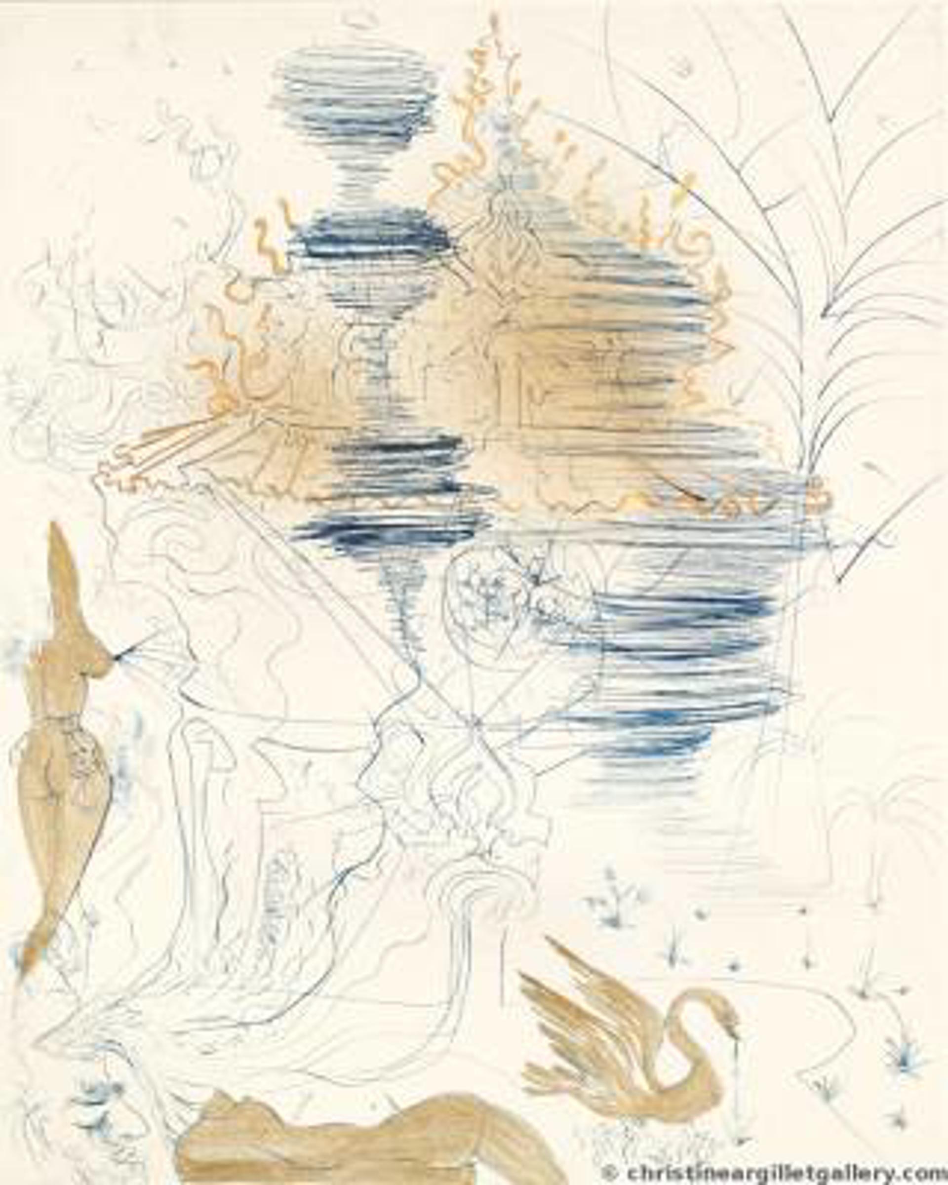 "The Hippies  ""Pagoda"" by Salvador Dali"