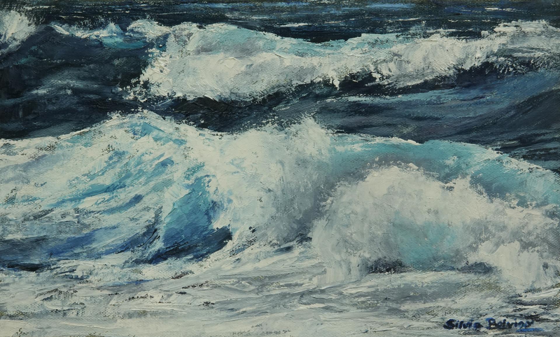 Turquoise Ocean by Silvia Belviso