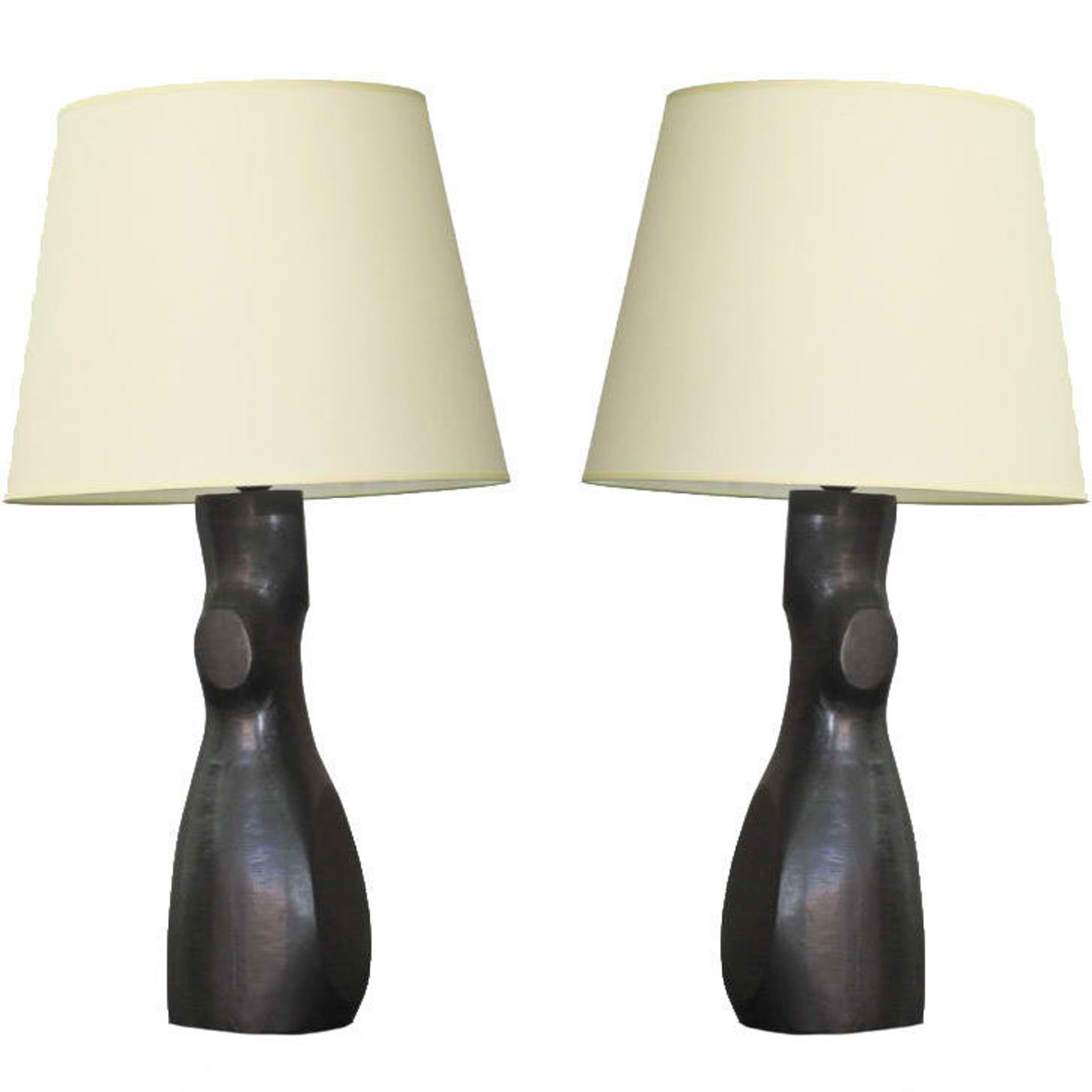 """Togo"" Lamps  by Jacques Jarrige"