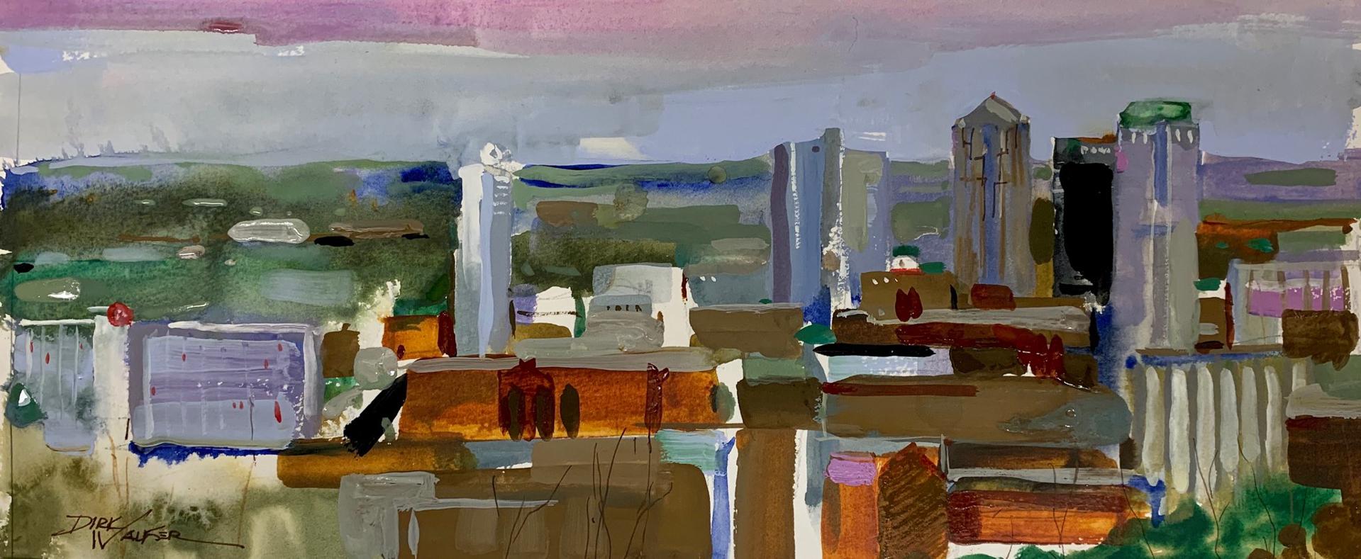Birmingham Skyline by Dirk Walker