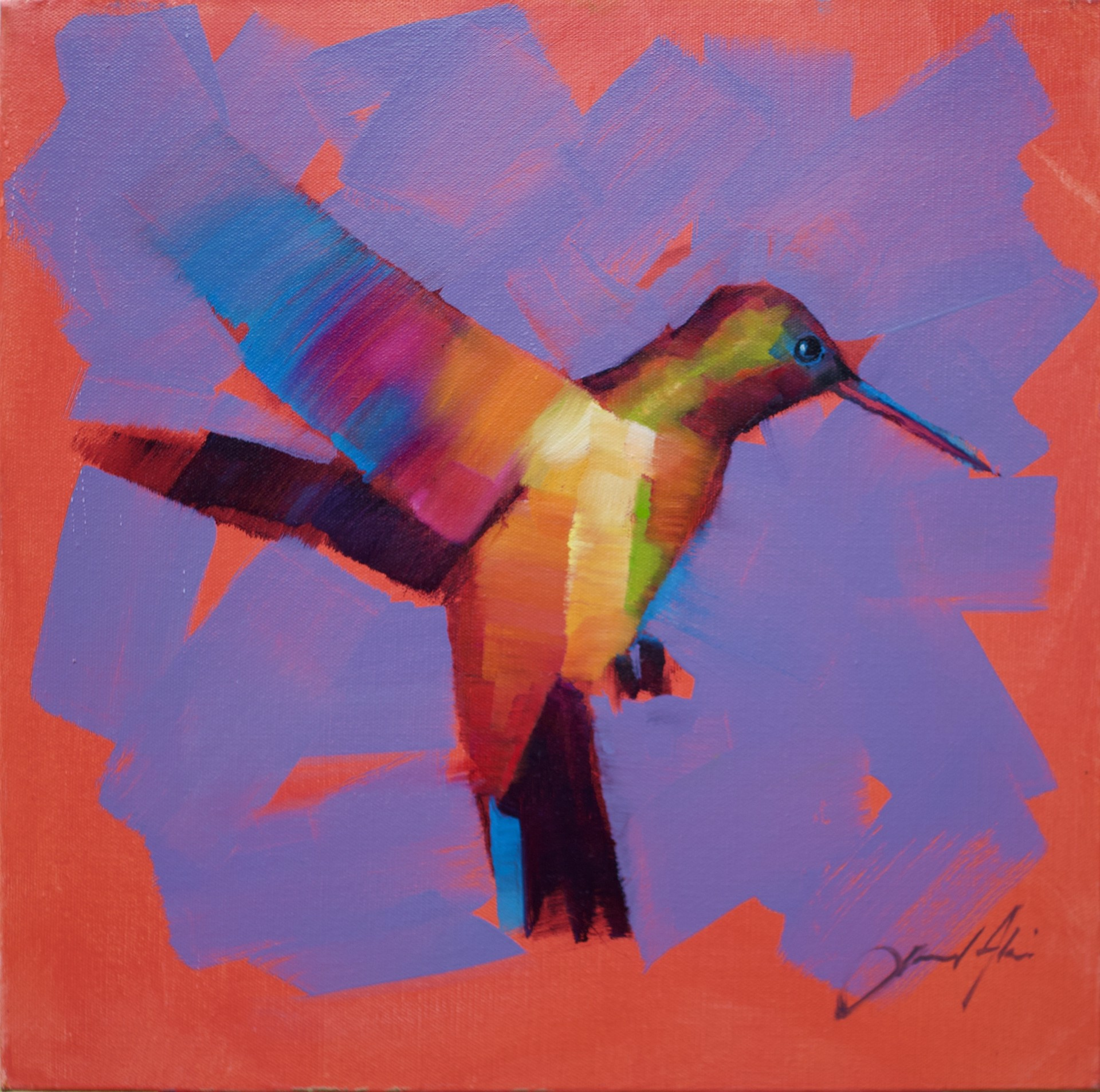 Hummingbird XIV by Jamel Akib