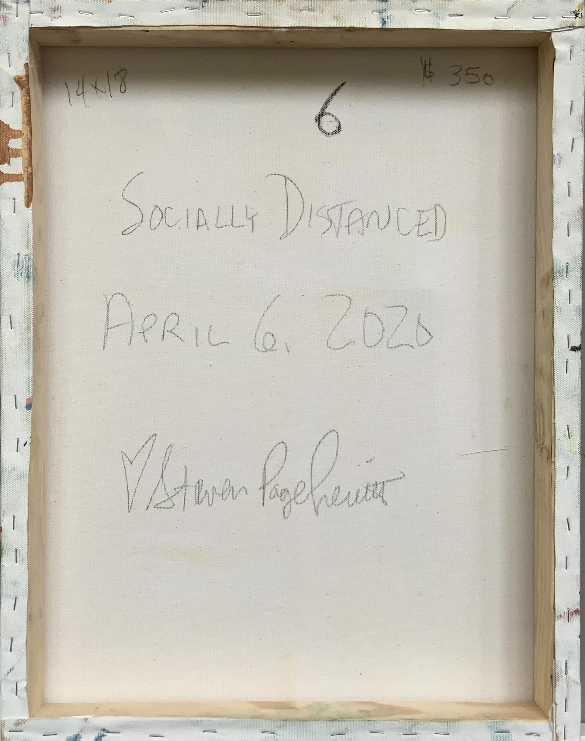 Socially Distanced 6 by Steven Page Prewitt