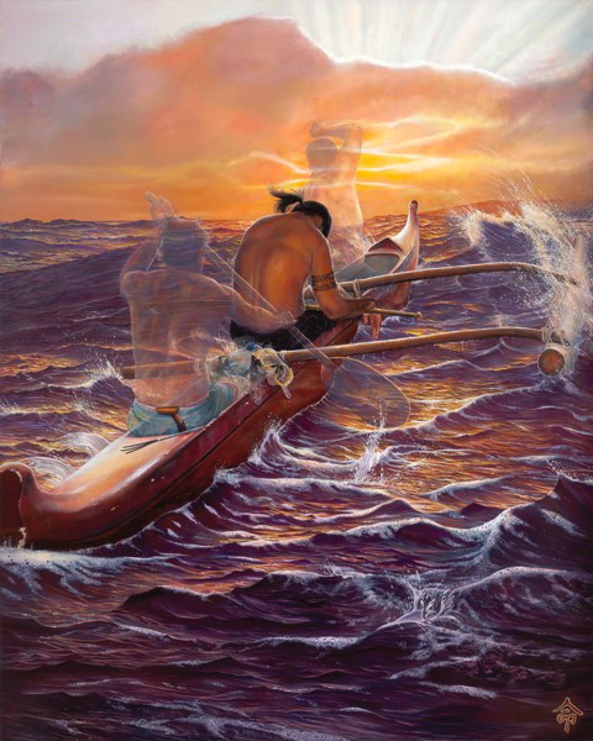 Paddler - He Noho Kou I Ko'u Wa'a by Leohone