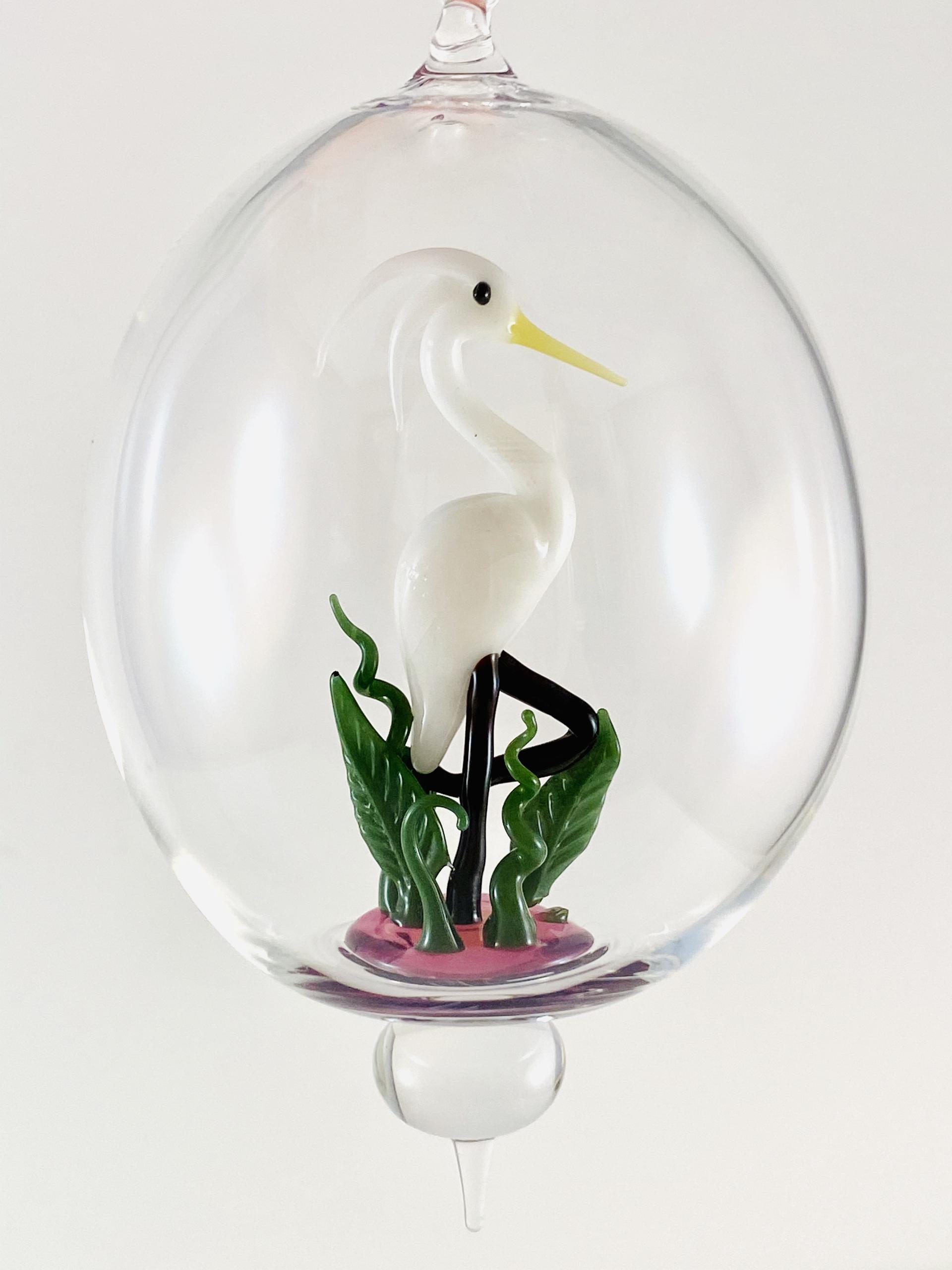 Egret #97 by Jim Downey