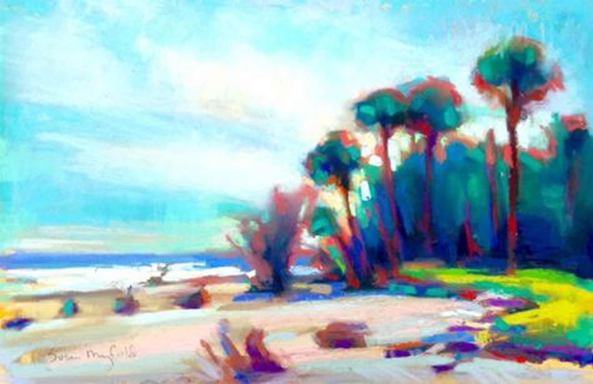 Hunting Island by Susan Mayfield