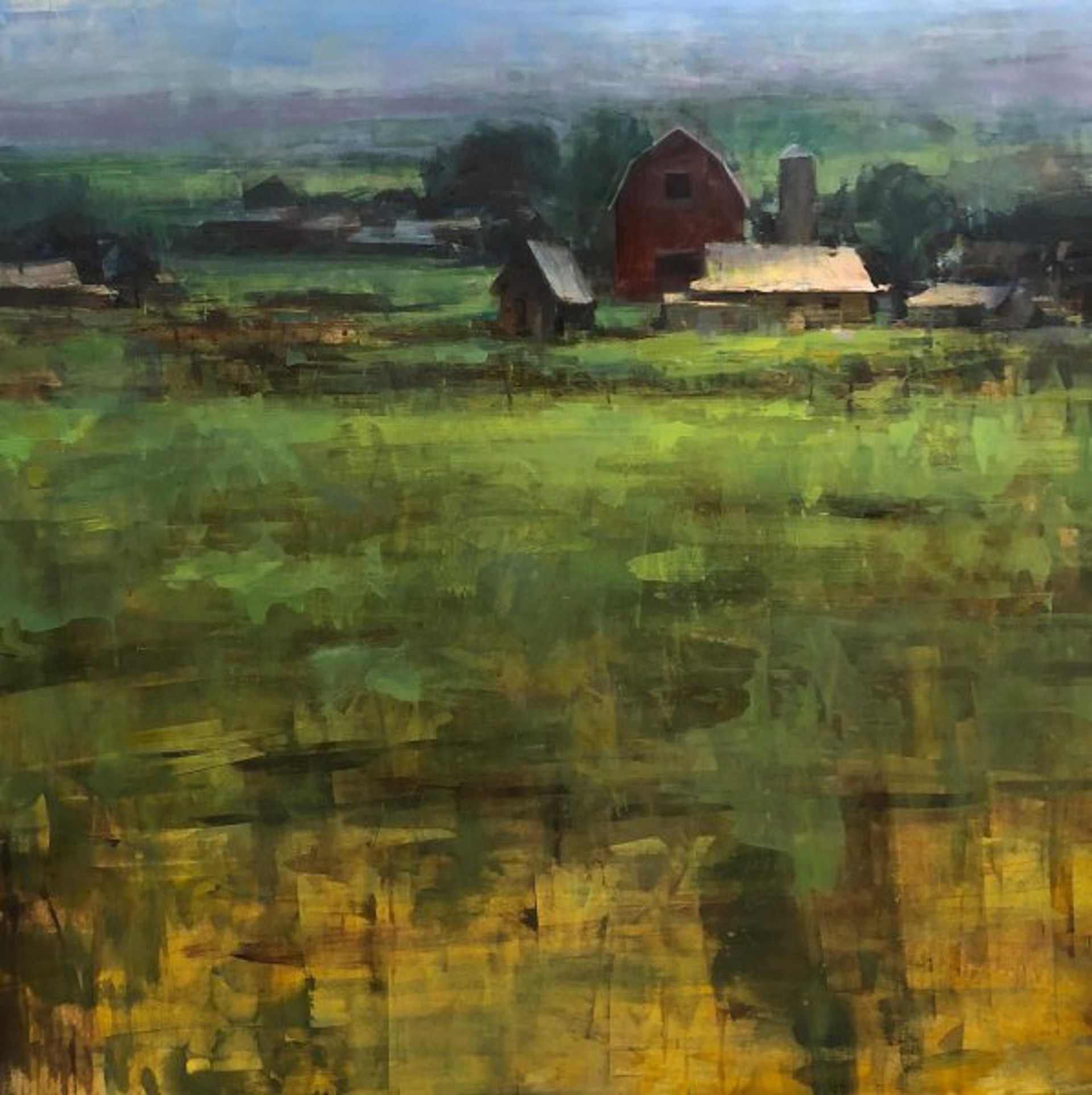 North Valley Farm by Bryan Mark Taylor