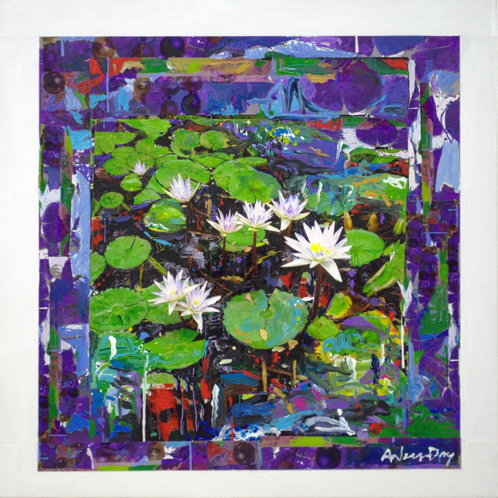 Lily Pads by Arless Day