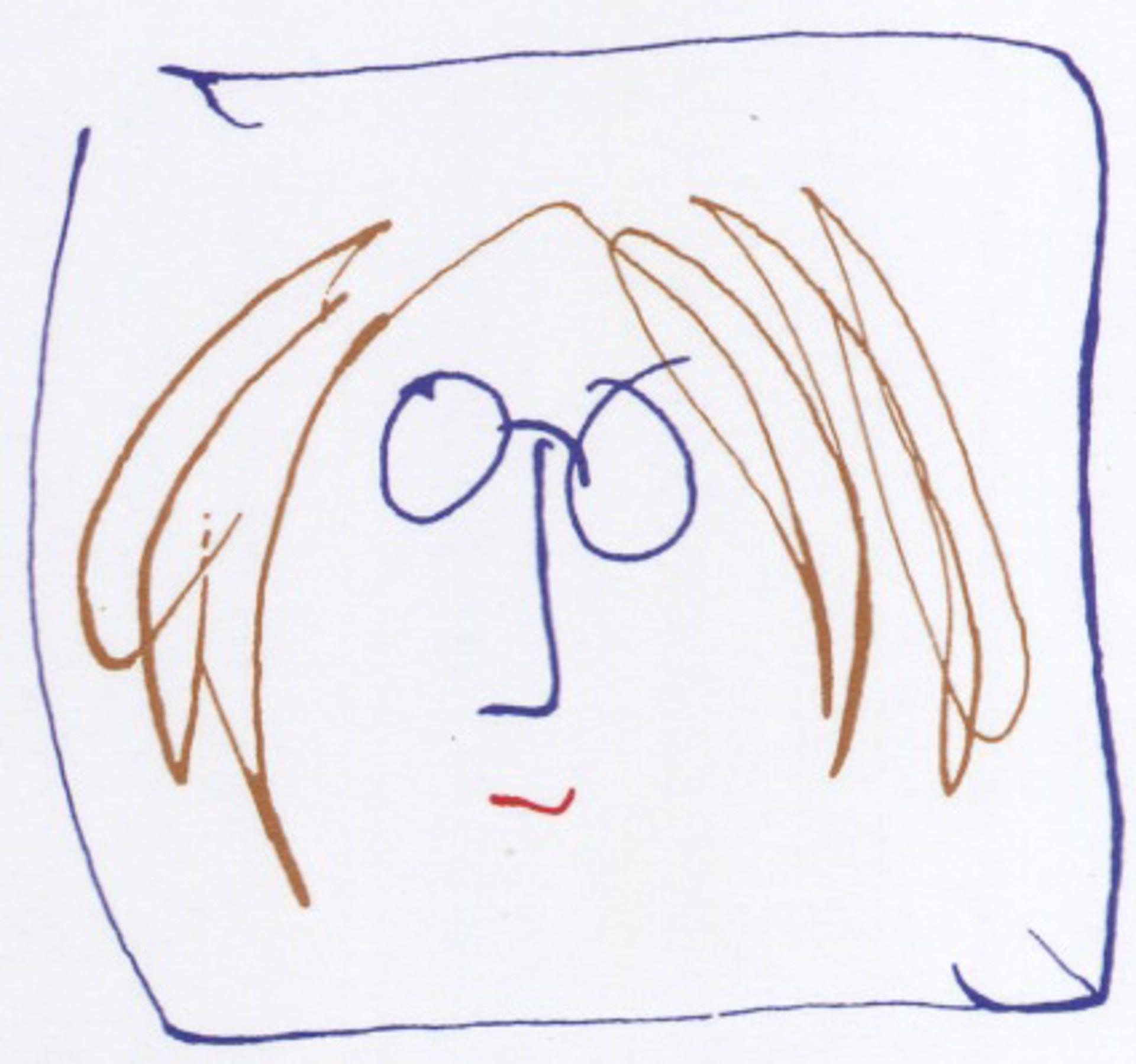 """""""Self Portrait"""" (Color) by John Lennon"""