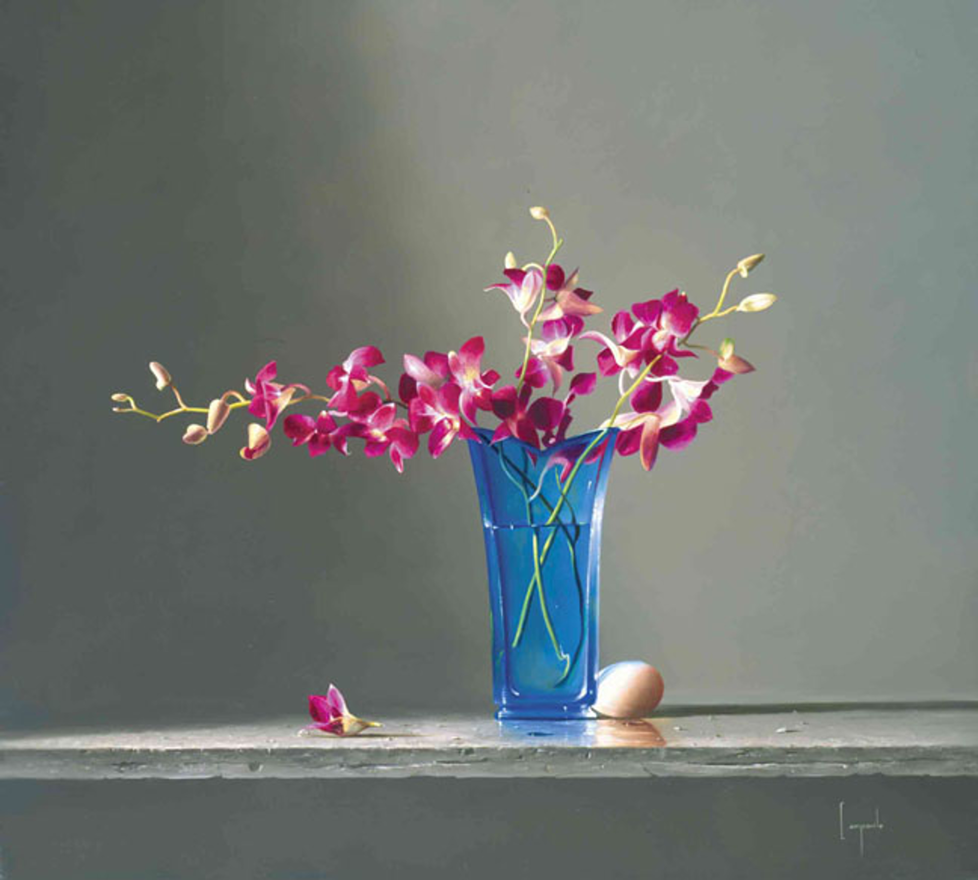 Blue Egg by Dario Campanile