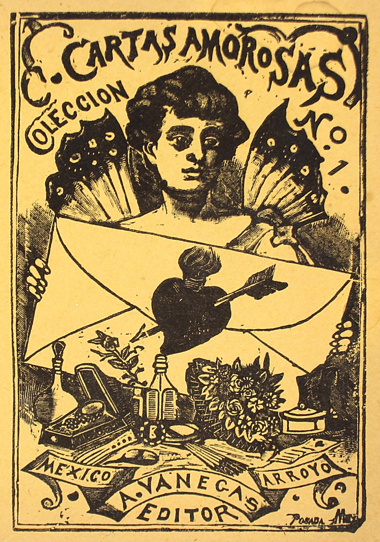 Colección de Cartas Amorosas #1 by José Guadalupe Posada (1852 - 1913)
