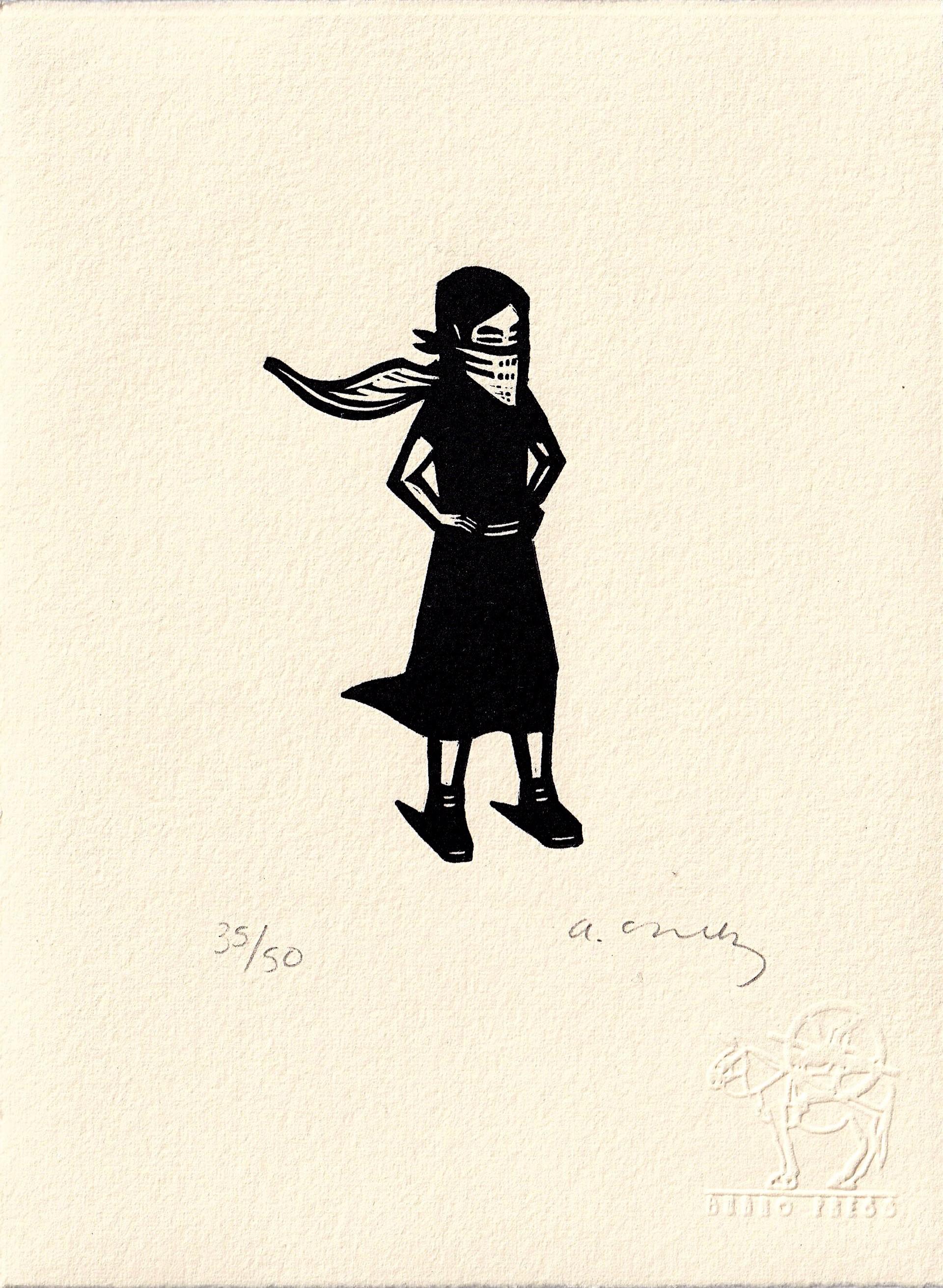 Untitled (Niña con Capa) by Alberto Cruz