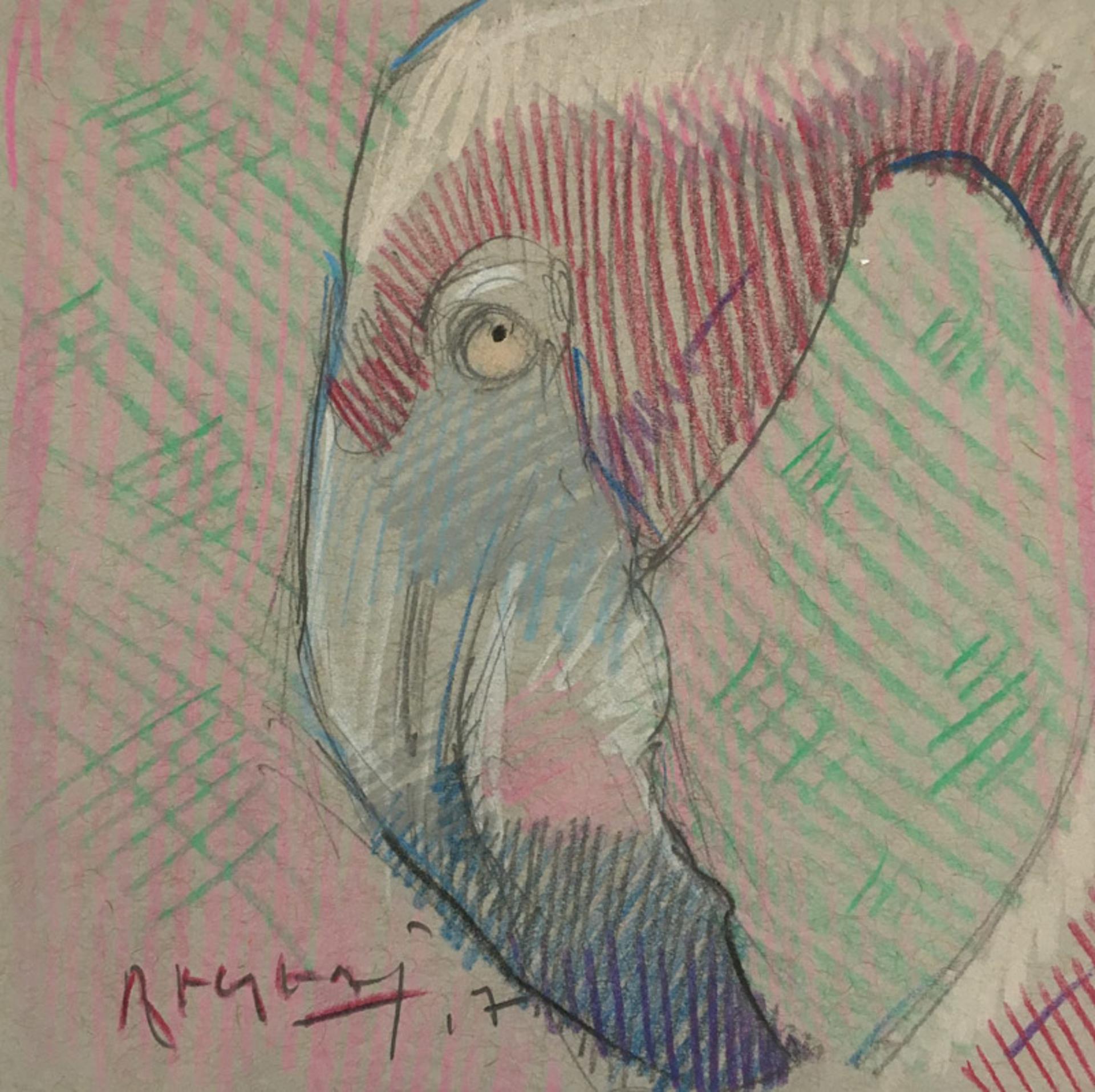 Mini Farm: Flamingo No.2 by Tim Jaeger