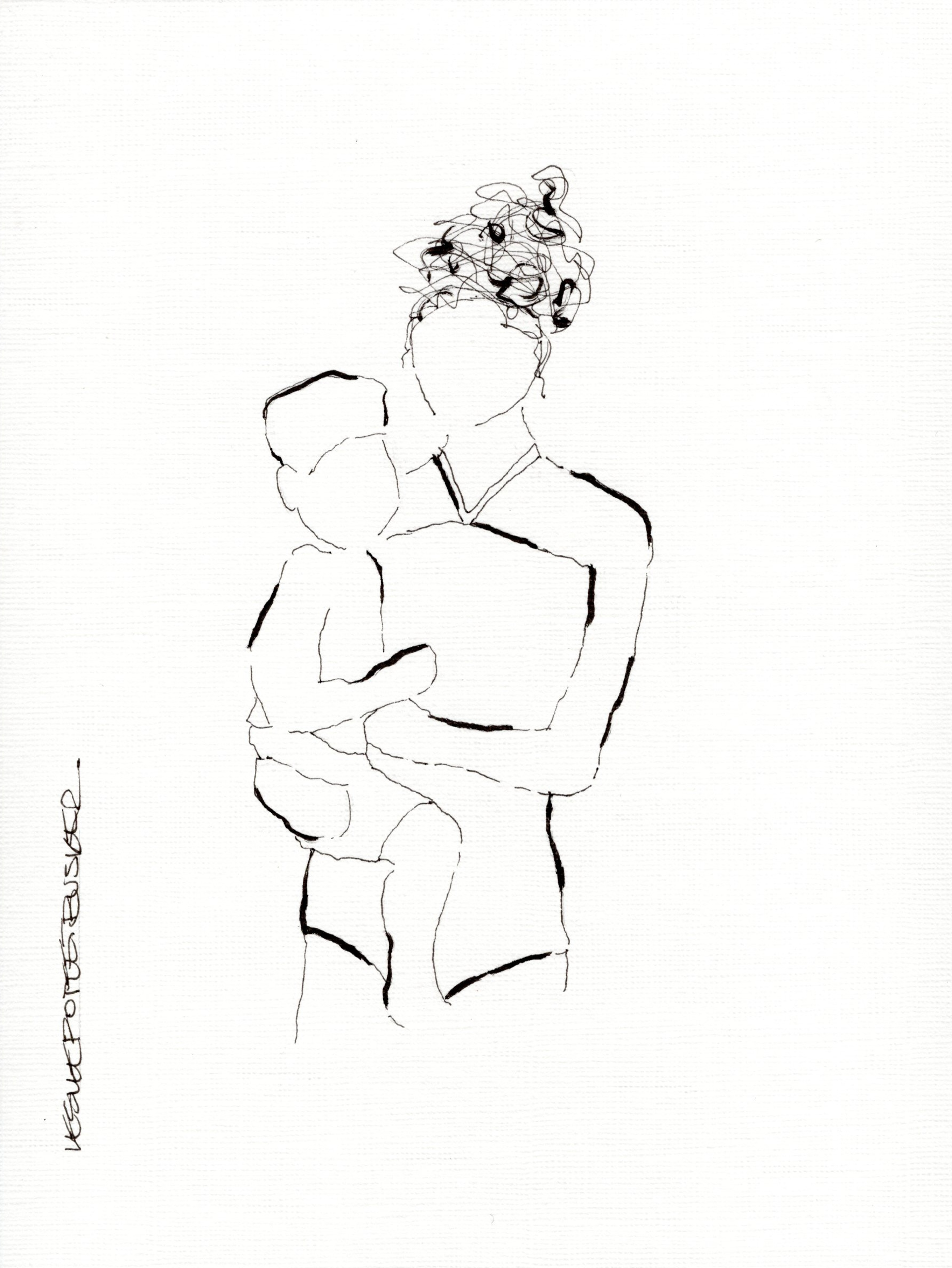 Mother and Child No. 4 by Leslie Poteet Busker