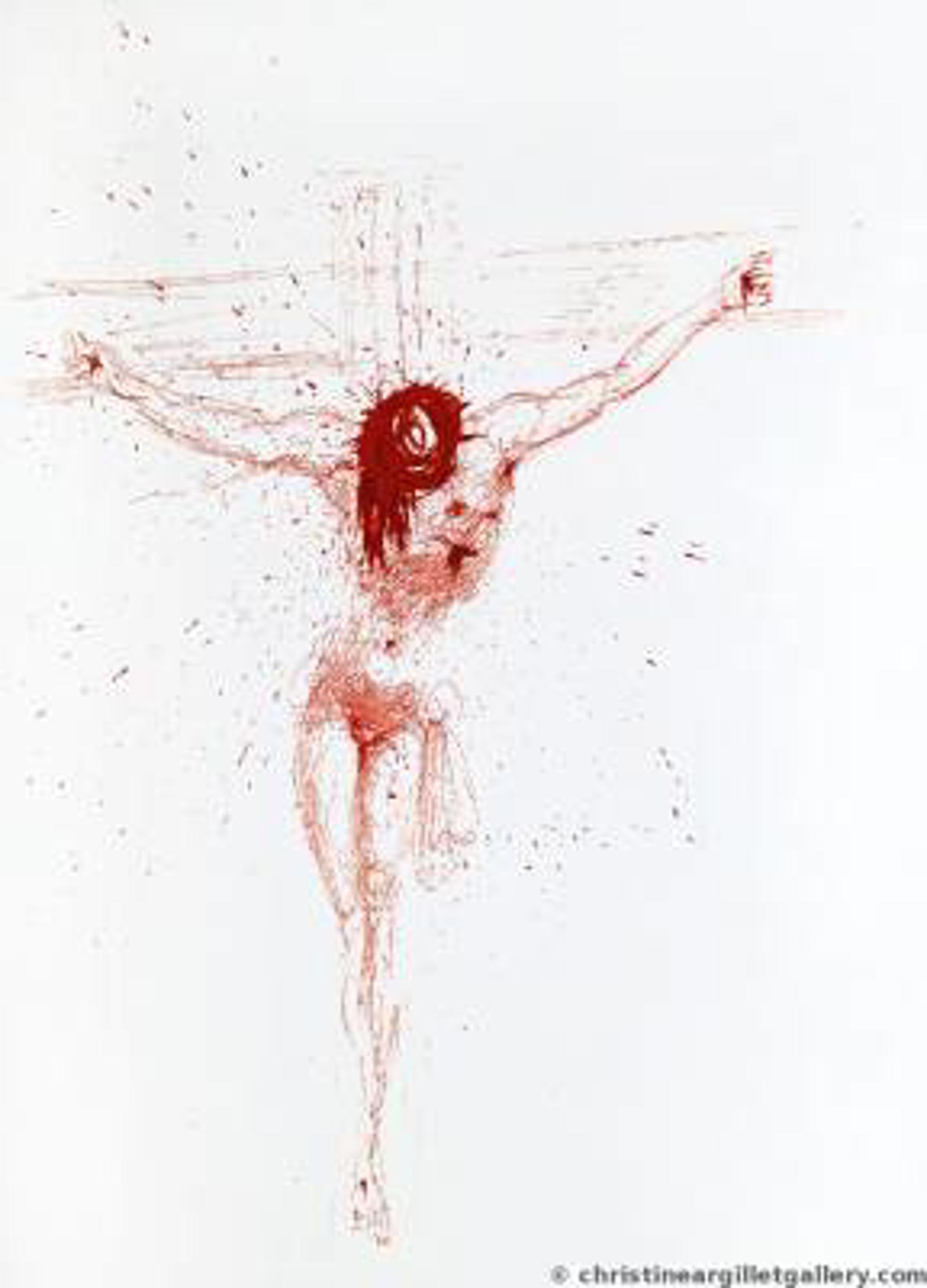 Christ sanguine by Salvador Dali