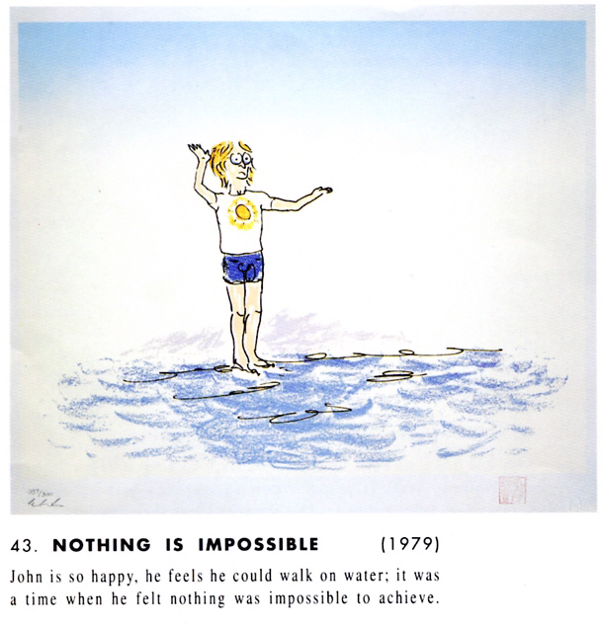 """Nothing Is Impossible"" by John Lennon"