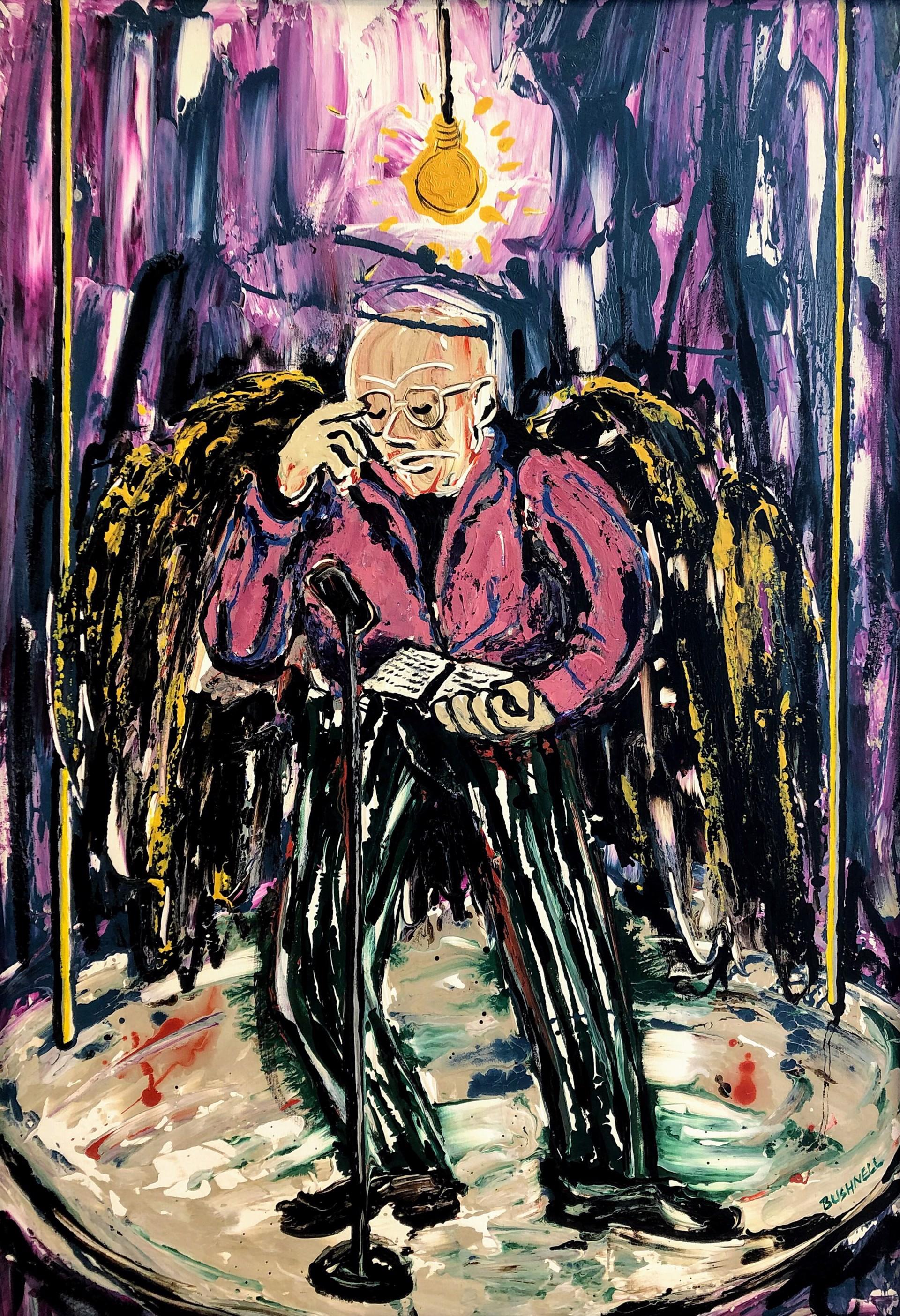 Beat Poet Angel by Brent Bushnell