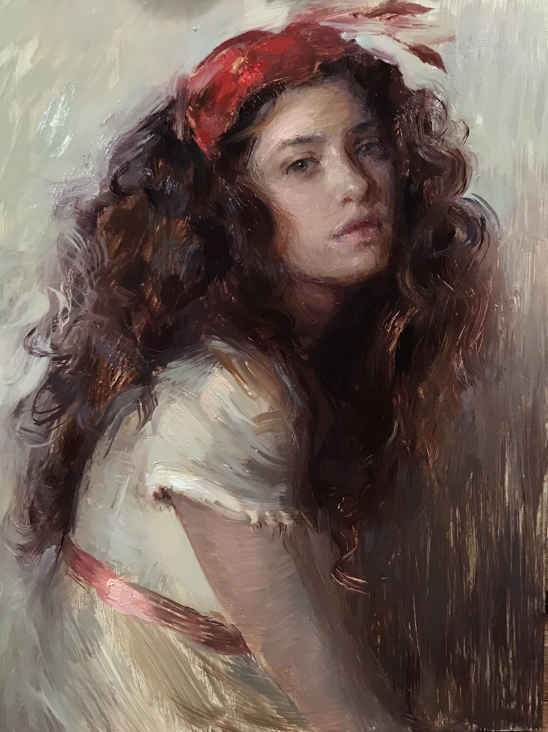 Posing in Curls by Suchitra Bhosle