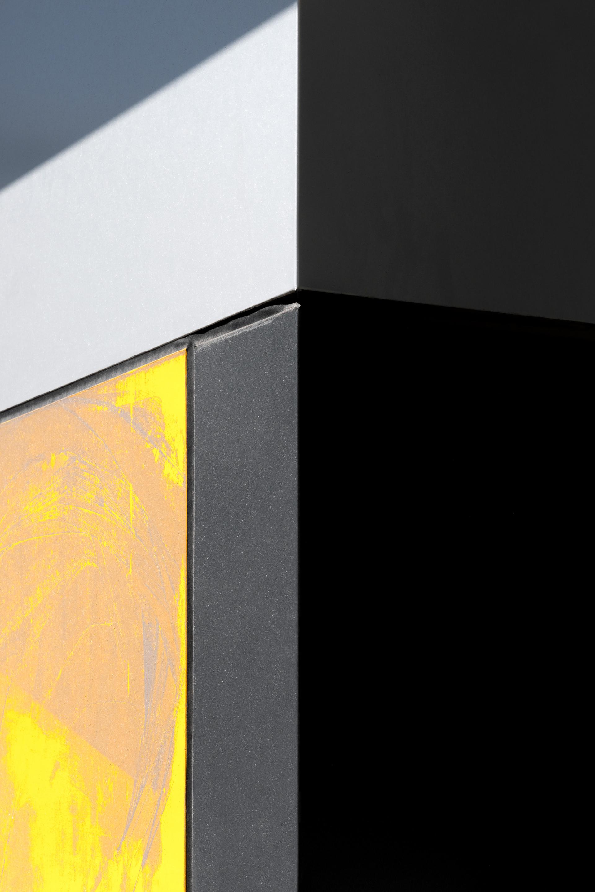 Yellow, Black and Grey by Jon Setter