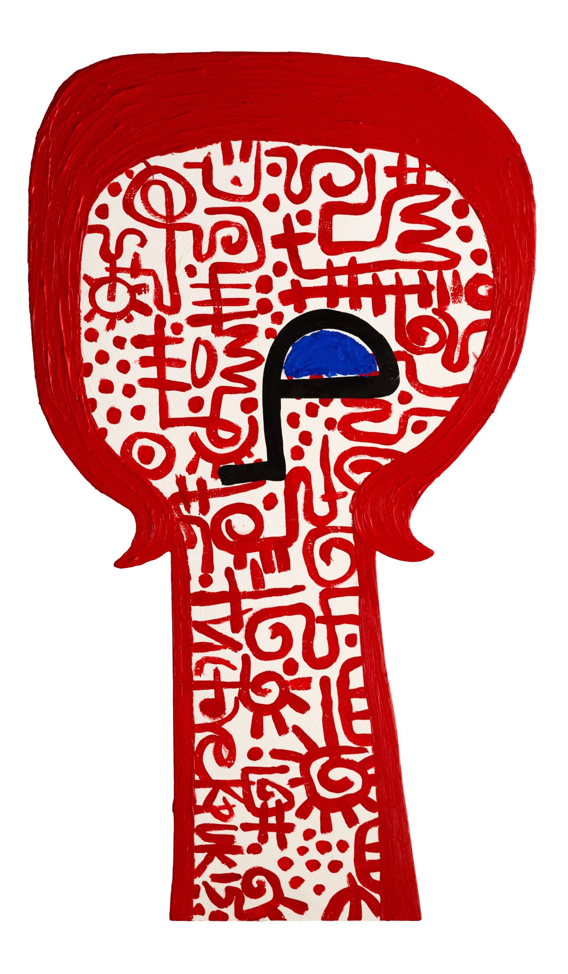 Head 7 by Victor Ekpuk