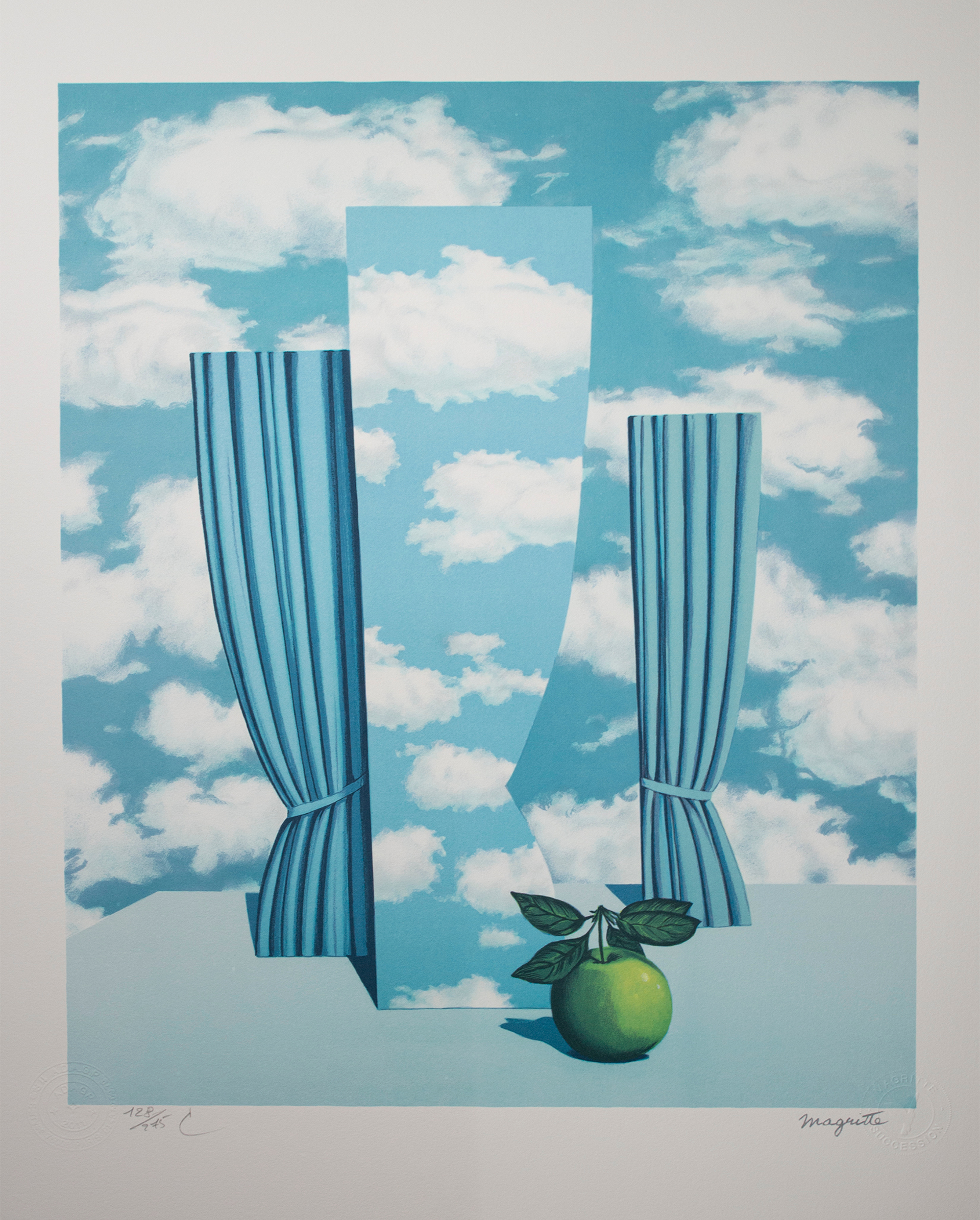 Le Beau Monde (High Society) by Rene Magritte