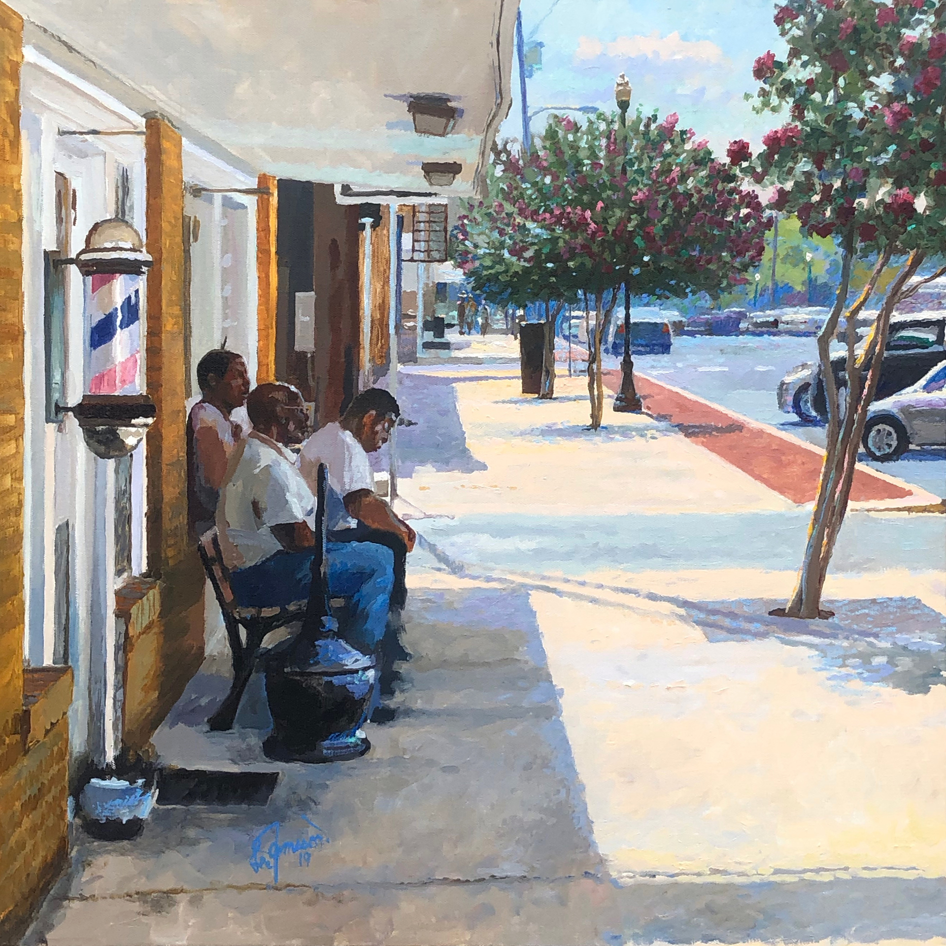 Connected, Downtown Lufkin, Texas by Lee Jamison