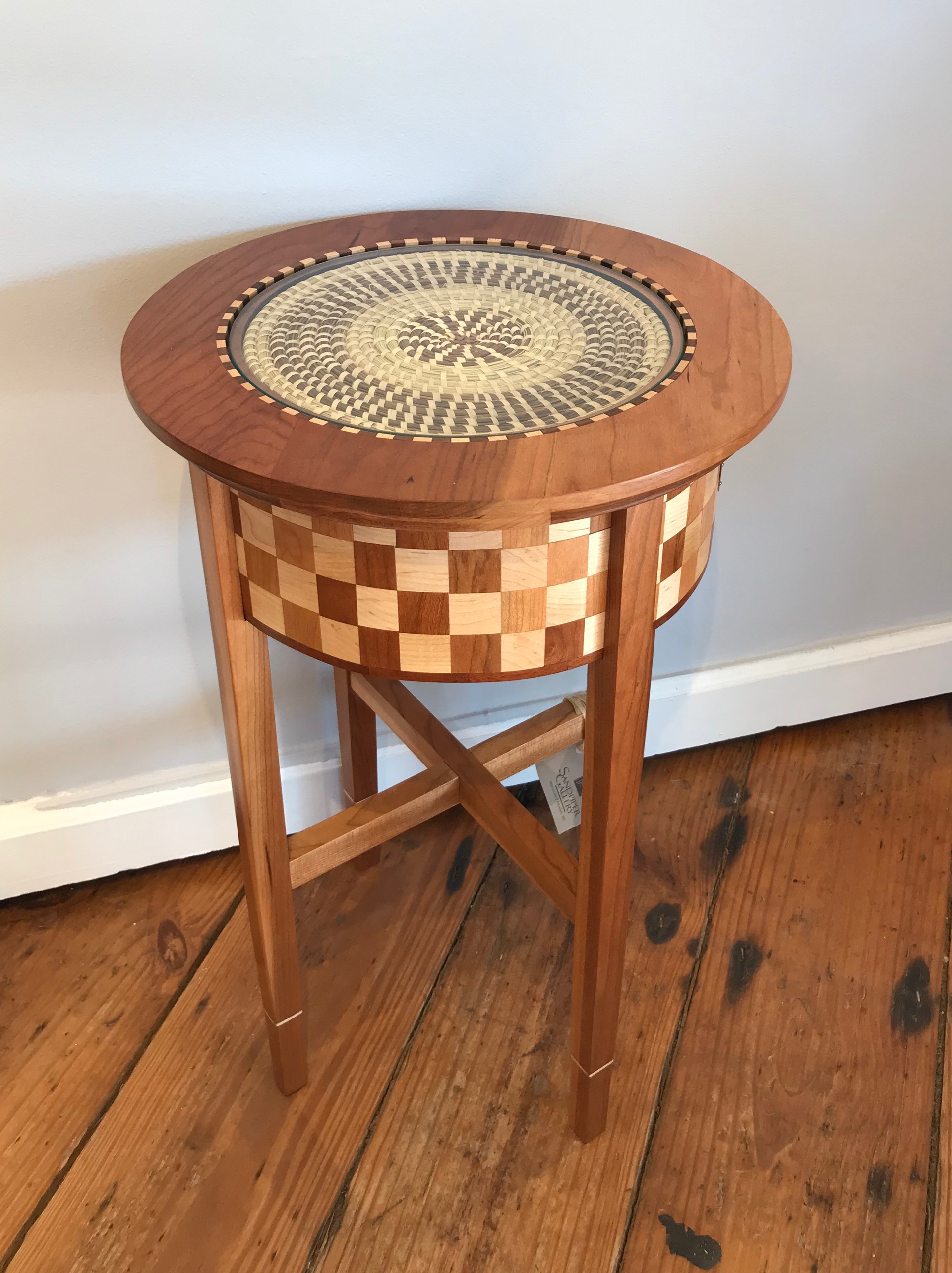 Sweet Grass Basket Table #34 by Pete Rock