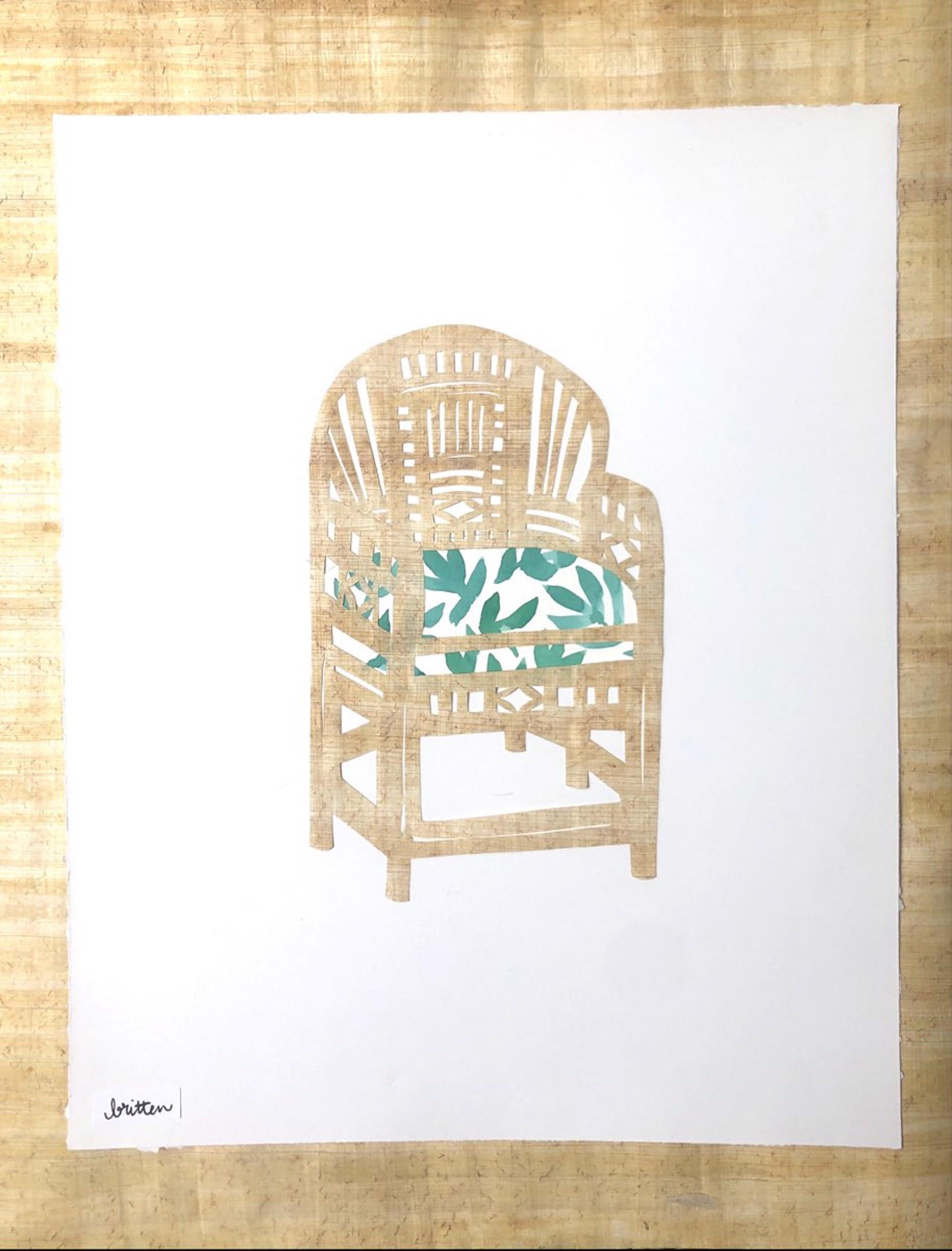 Vintage Bamboo II by Meg Britten