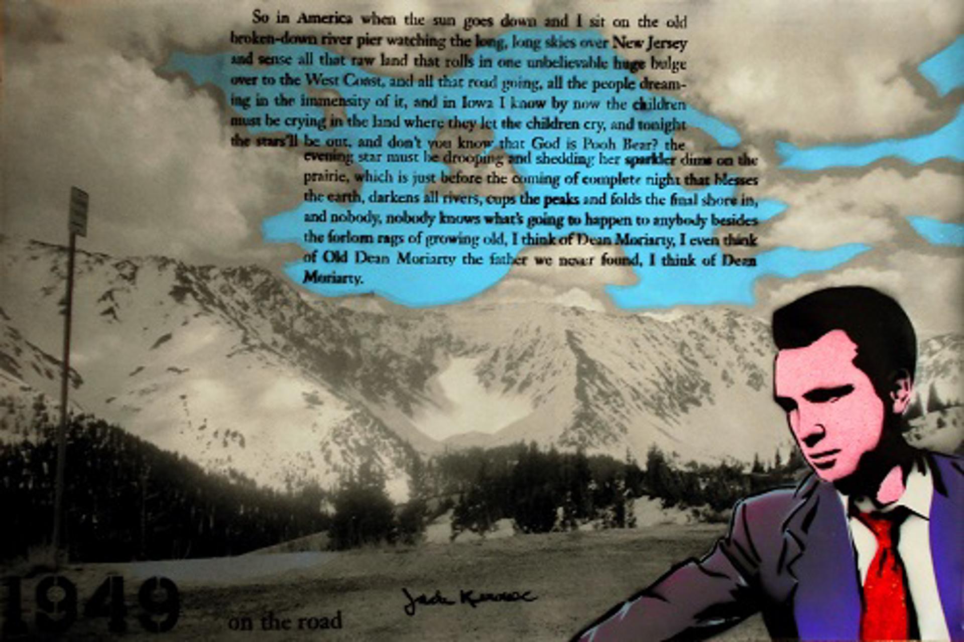 Kerouac in Keystone Colorado by Joss Parker