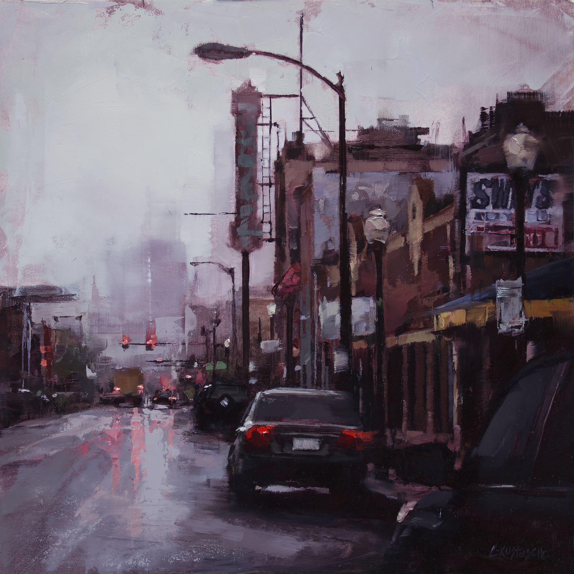 The Arts District by Lindsey Kustusch