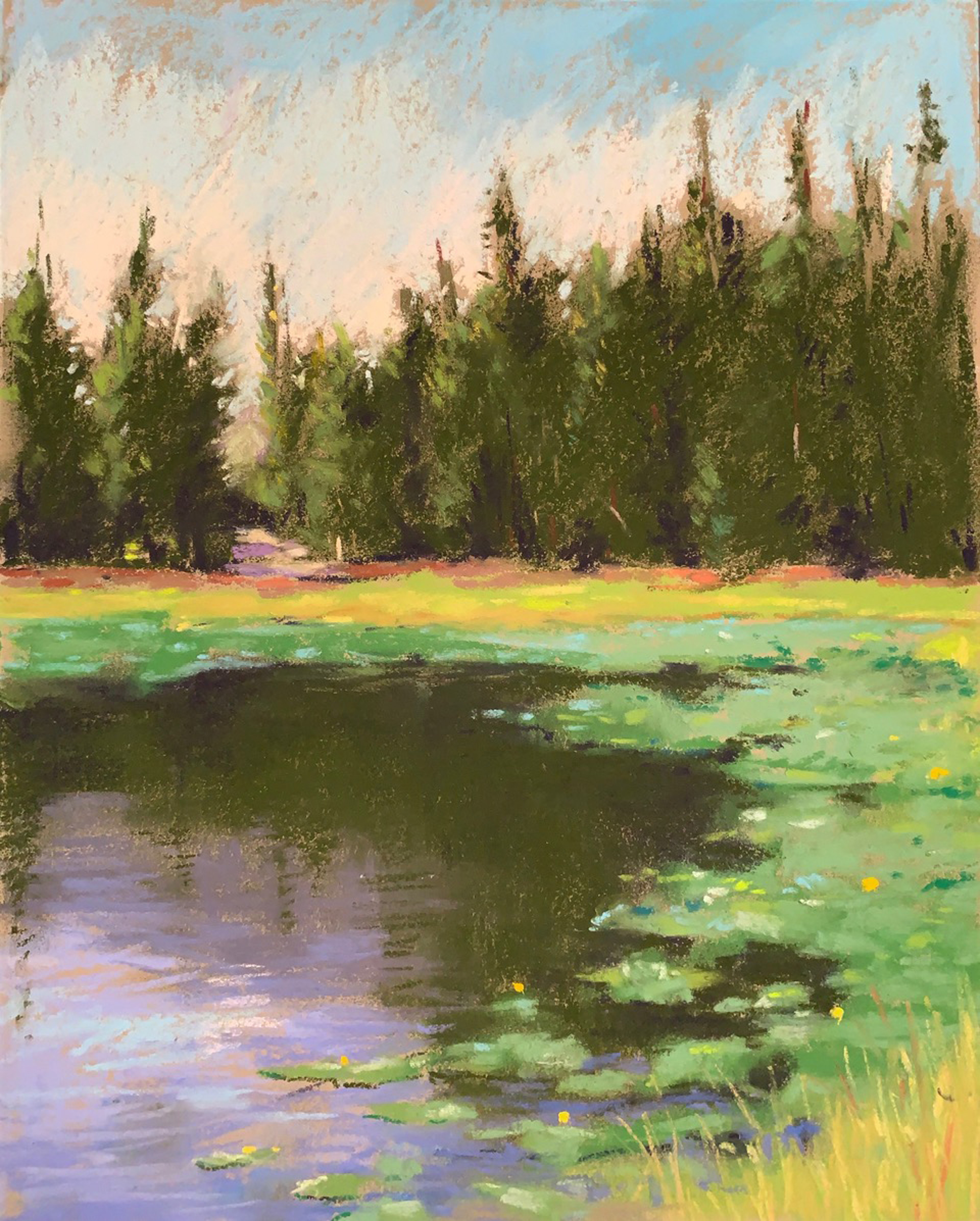 Ulrey's Lake Plein Air Study by Lisa Gleim