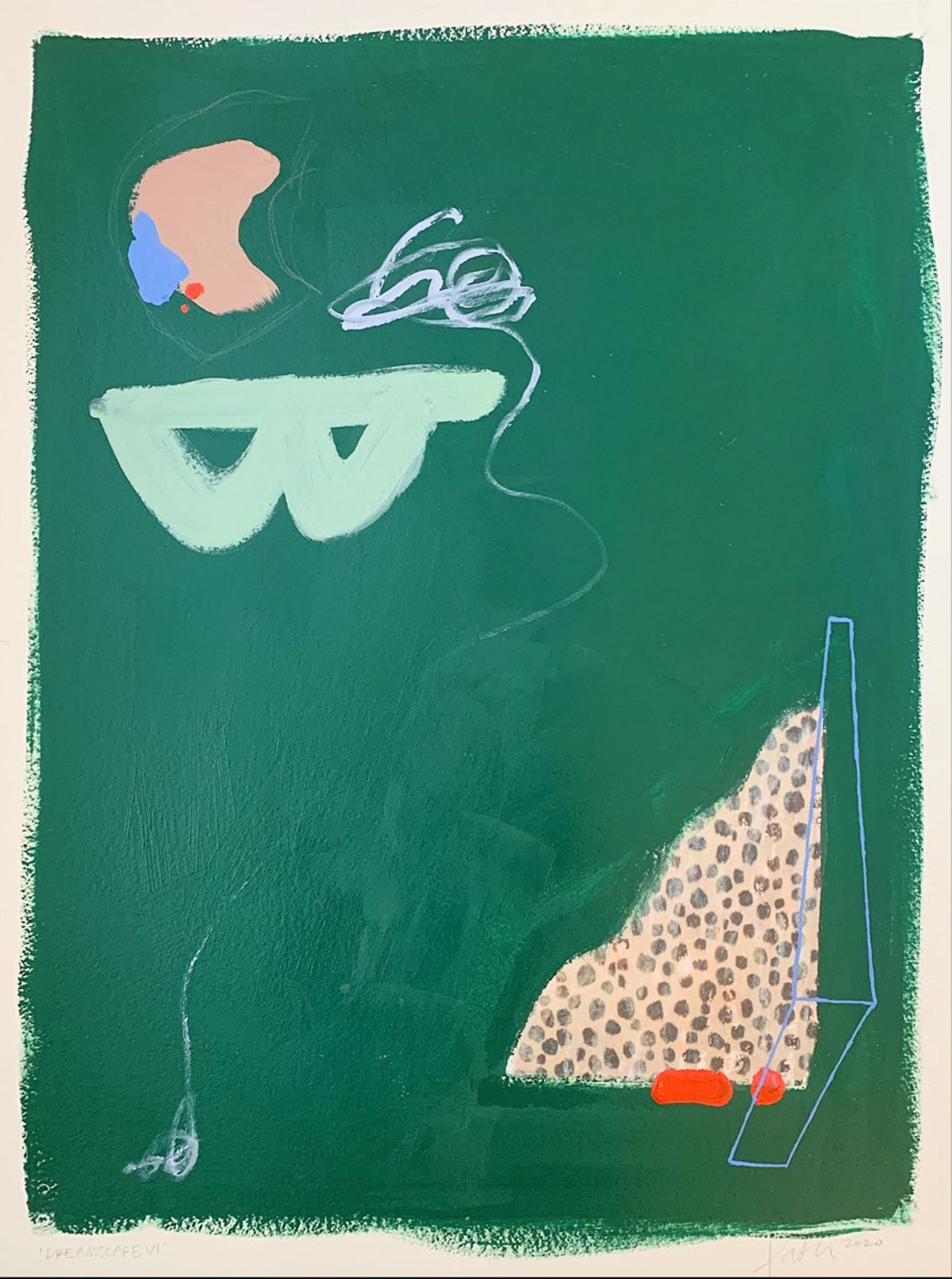 Dreamscape VI by Kathleen Jones