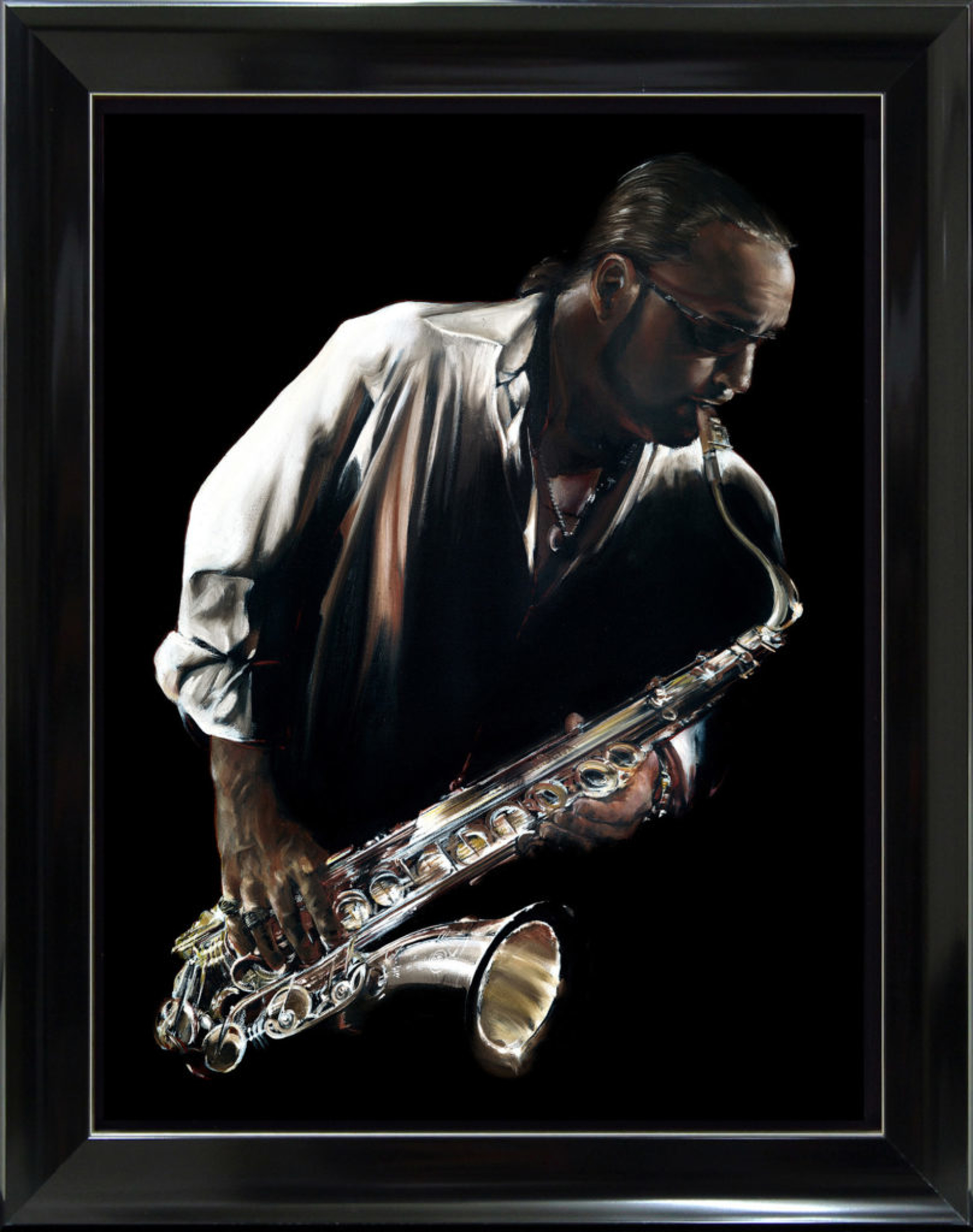 Jazzman on Metal by Bill Mack