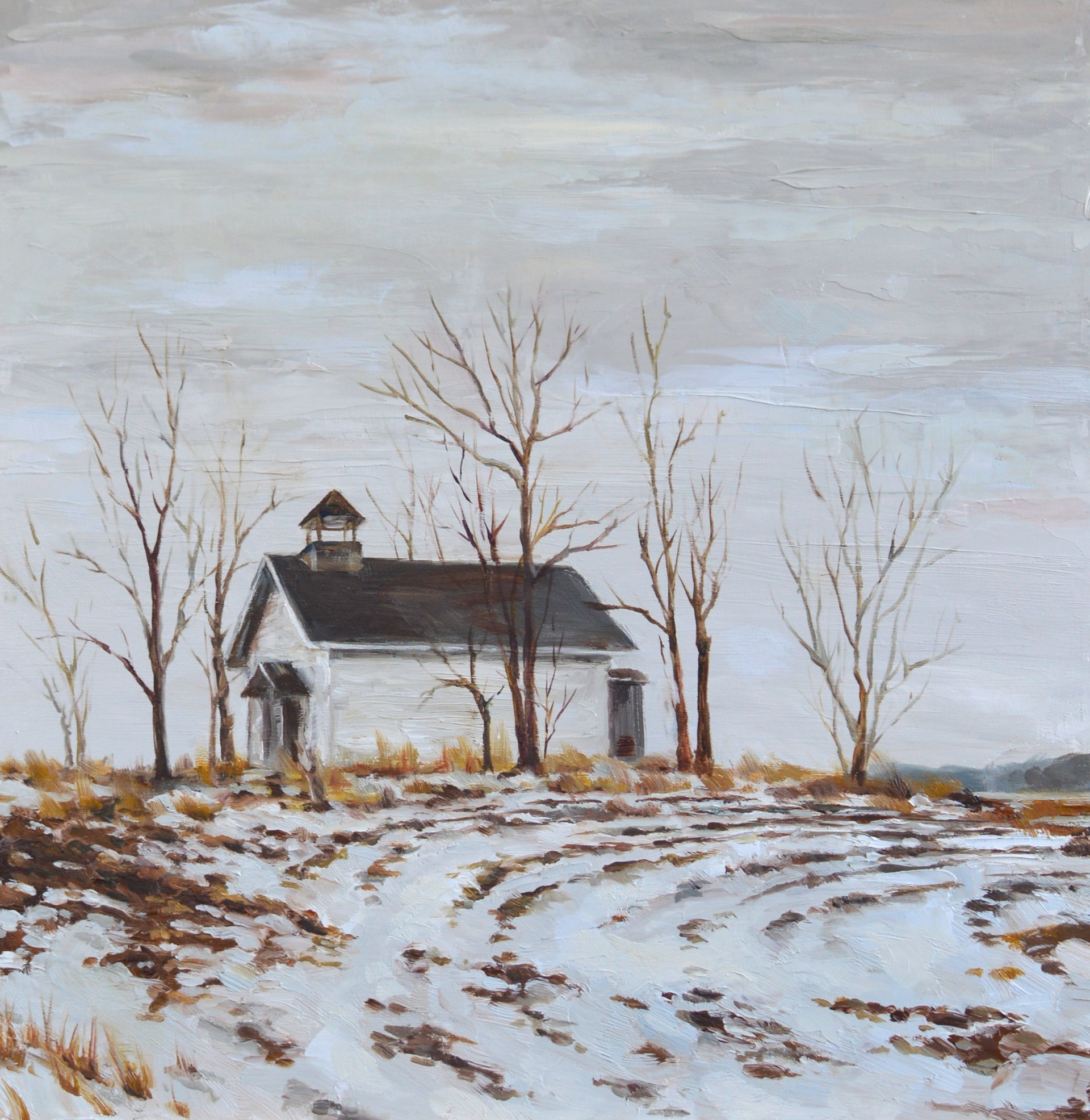 Schoolhouse on the Hill by Katharine Taylor