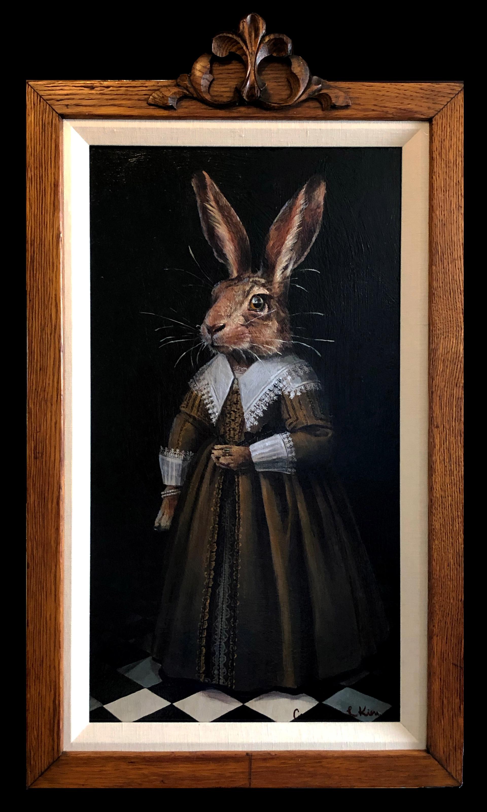 Portrait  of a Rabbit by Cassandra Kim
