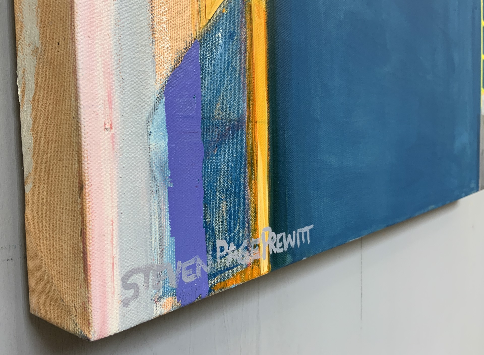 Abstract Landscape 18 by Steven Page Prewitt