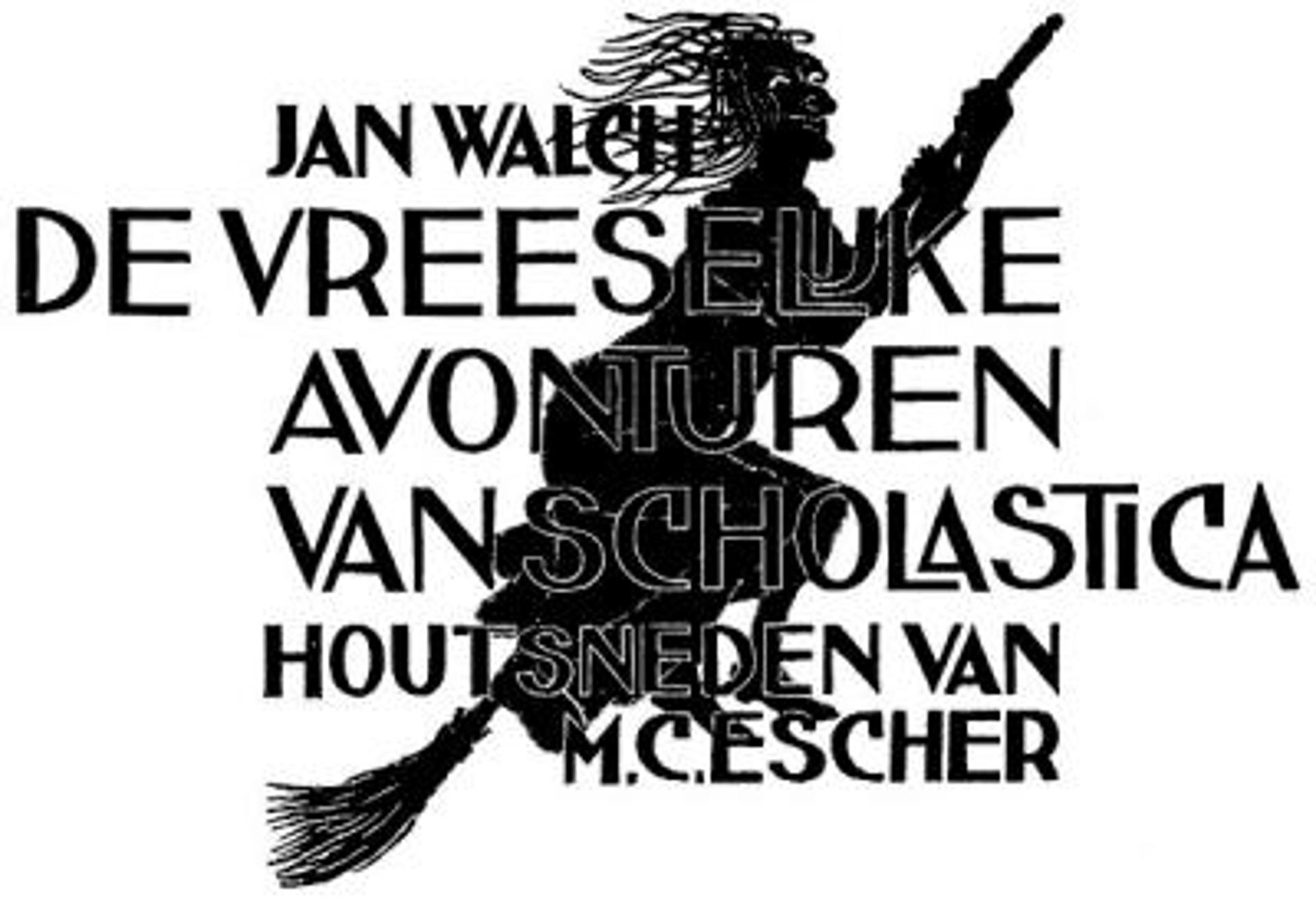 Scholastica (cover) by M.C. Escher